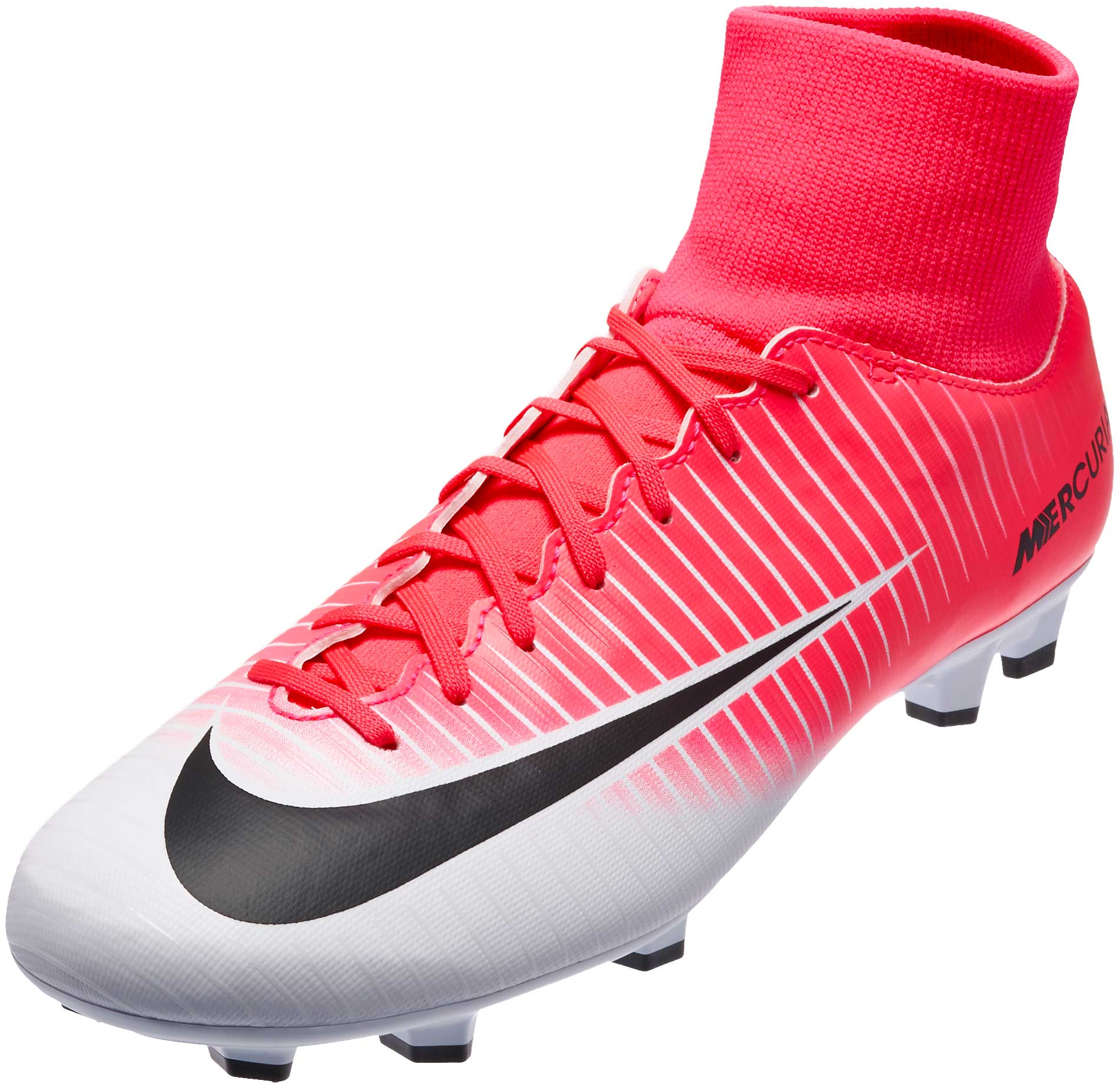 limited guantity official images 50% price Nike Mercurial Victory VI DF FG Soccer Cleats - Racer Pink ...