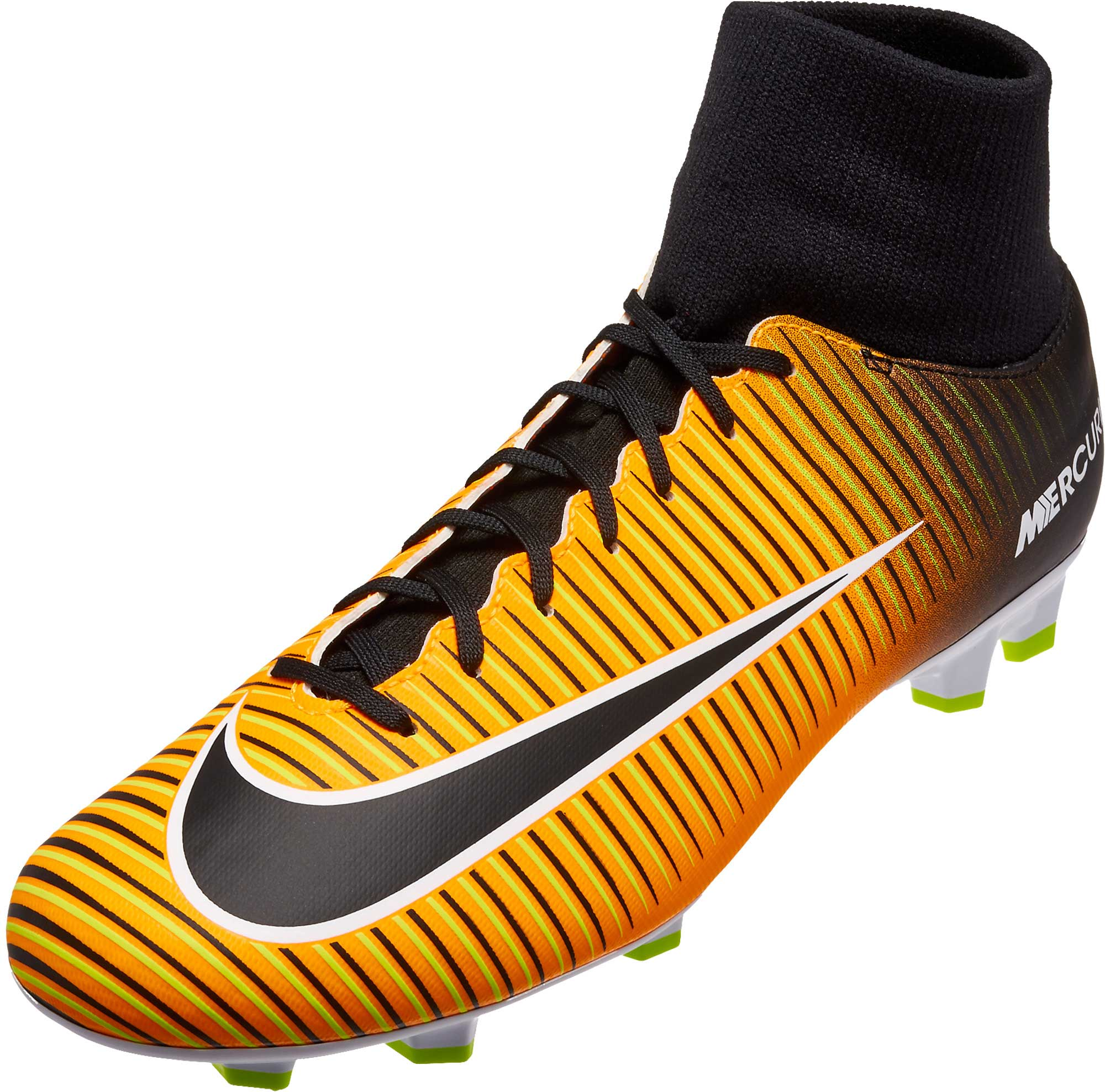 low priced f424a 7e5e4 Nike Mercurial Victory VI DF FG Soccer Cleats - Laser Orange ...