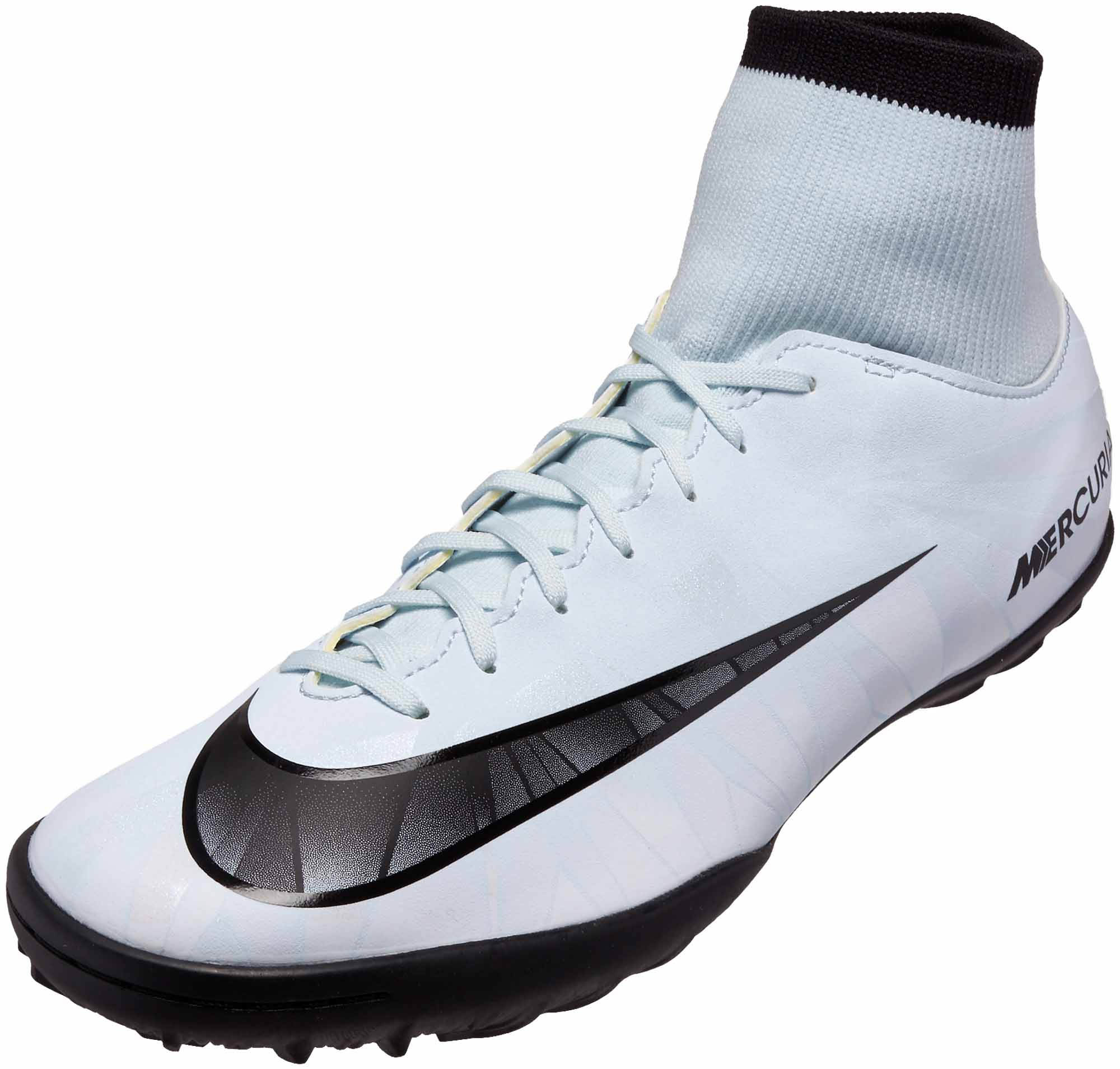 separation shoes 94348 08d71 Nike MercurialX Victory VI DF TF - CR7 - Blue Tint & Black ...
