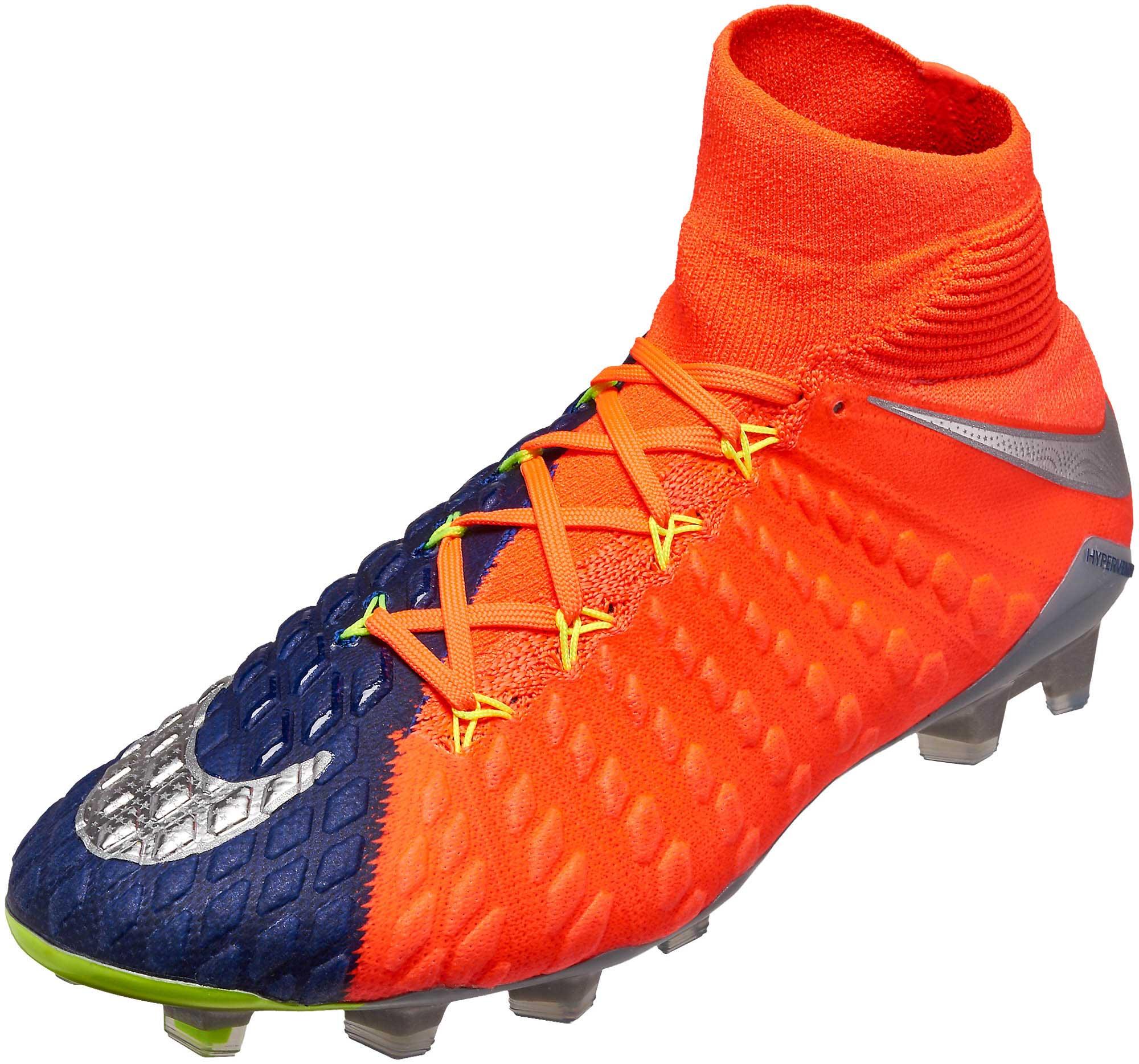 low priced 2ad38 31cd4 Nike Hypervenom Phantom III DF FG Soccer Cleats - Deep ...