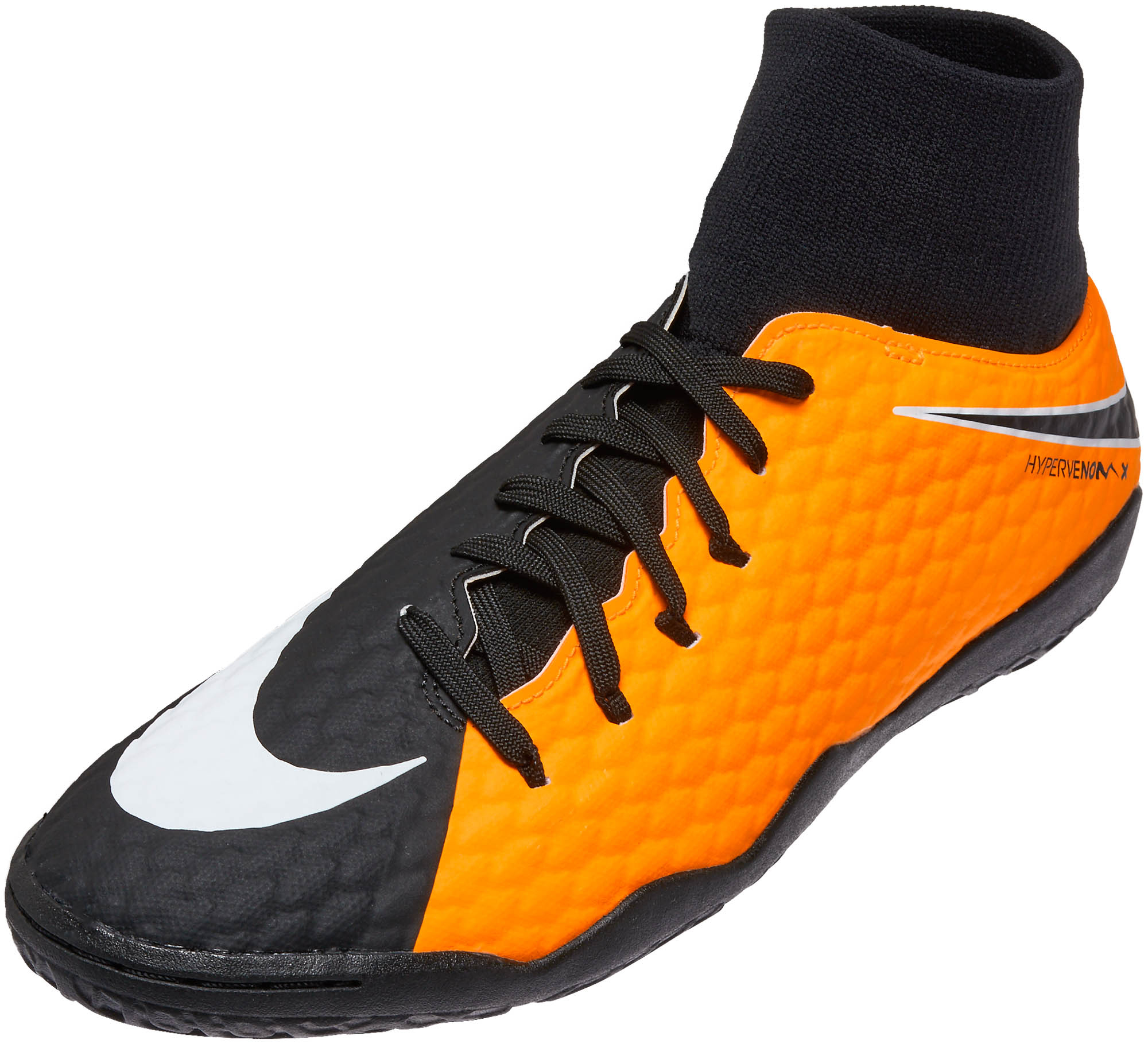 Nike HypervenomX Phelon III DF Indoor Shoes – Laser Orange   Black cd98cf6a2e81