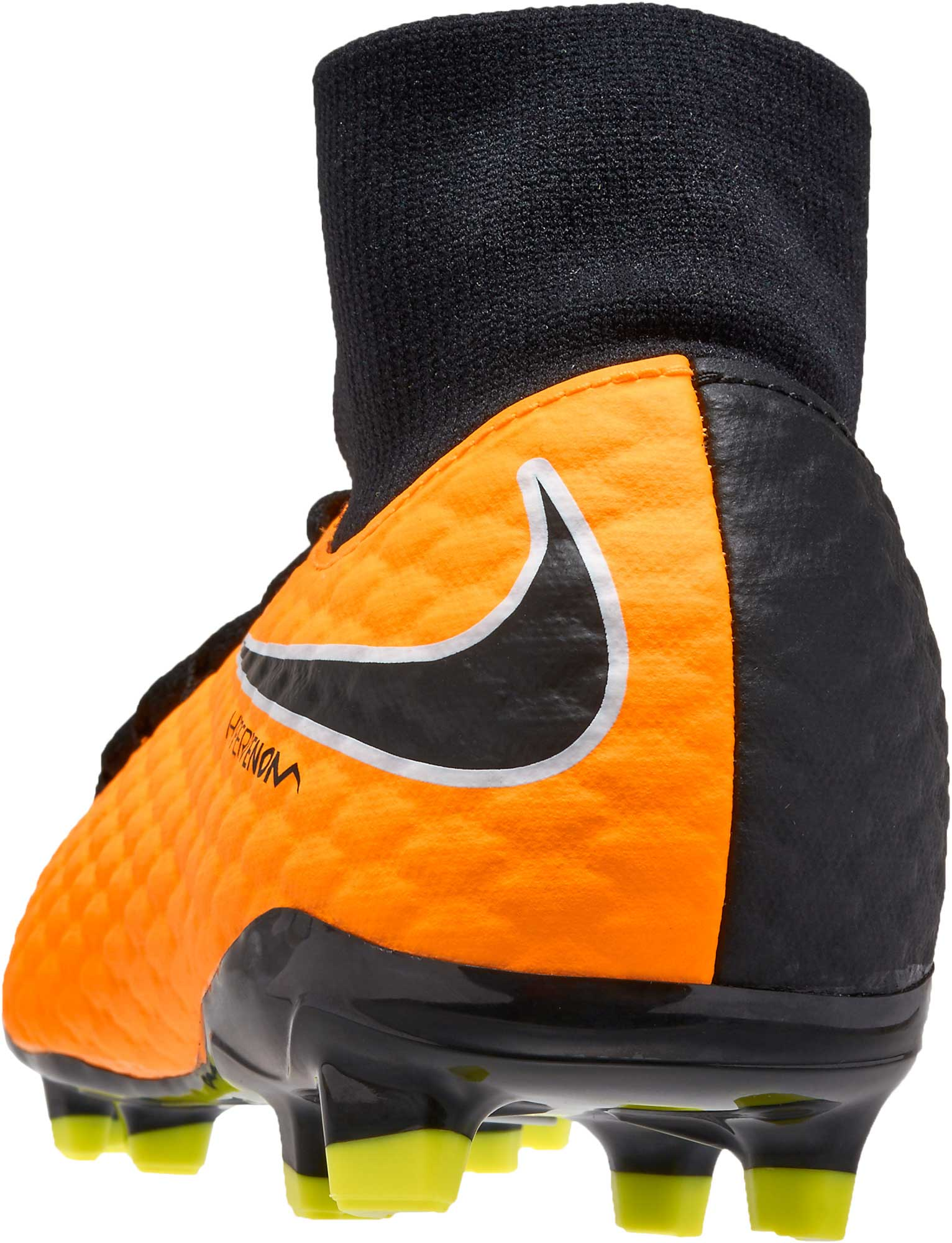 Nike Jr Hypervenom Phelon III Orange DF FG Soccer Cleats Youth 917772-801