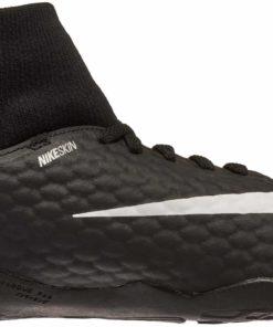 99fc8e44cfd Nike Kids Hypervenom Phelon III DF IC - Laser Orange   Black - Soccer Master
