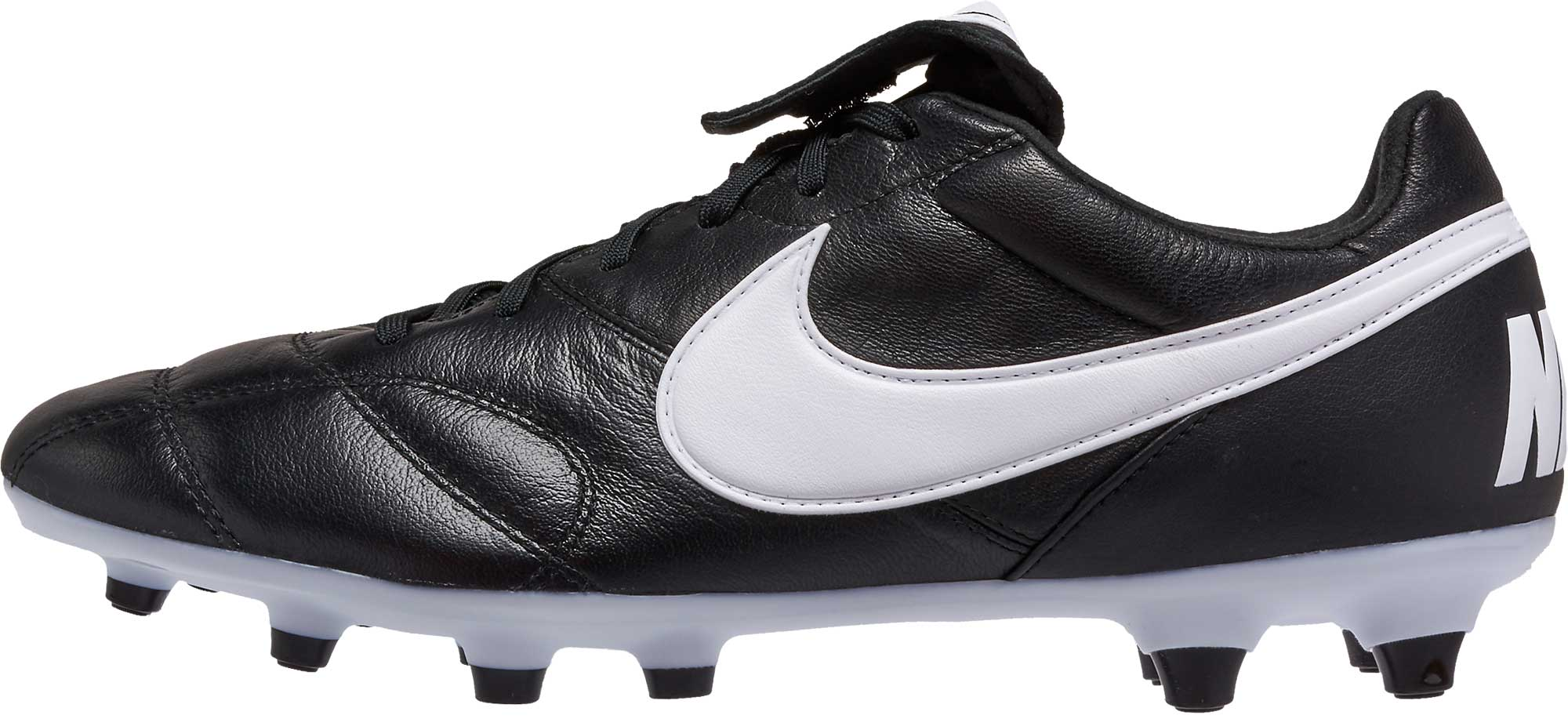 6bdbcf76b7a6 Nike Premier II FG Soccer Cleats - Black & White - Soccer Master