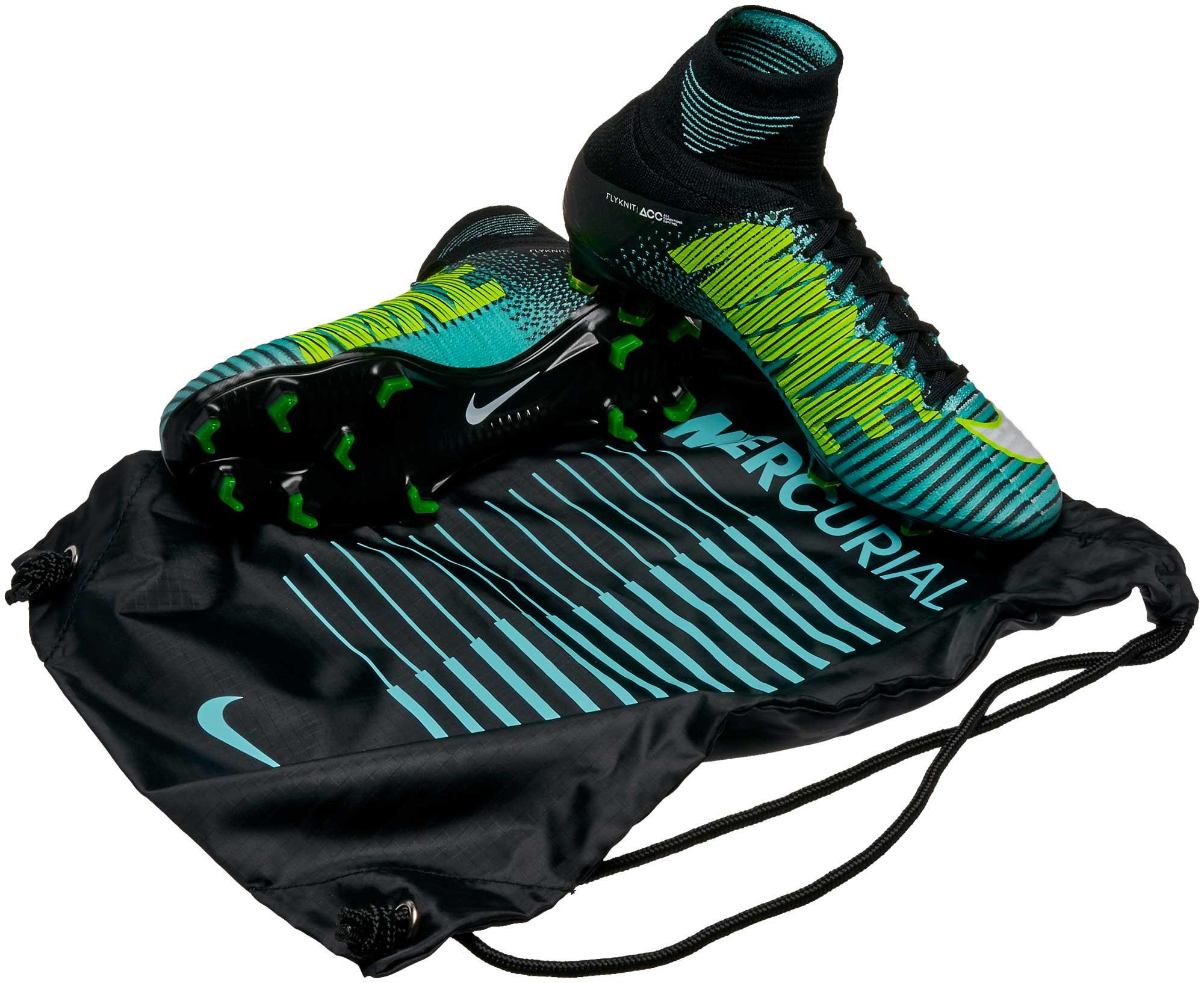 Nike Womens Mercurial Superfly V DF FG - Light Aqua   White - Soccer ... e30082982