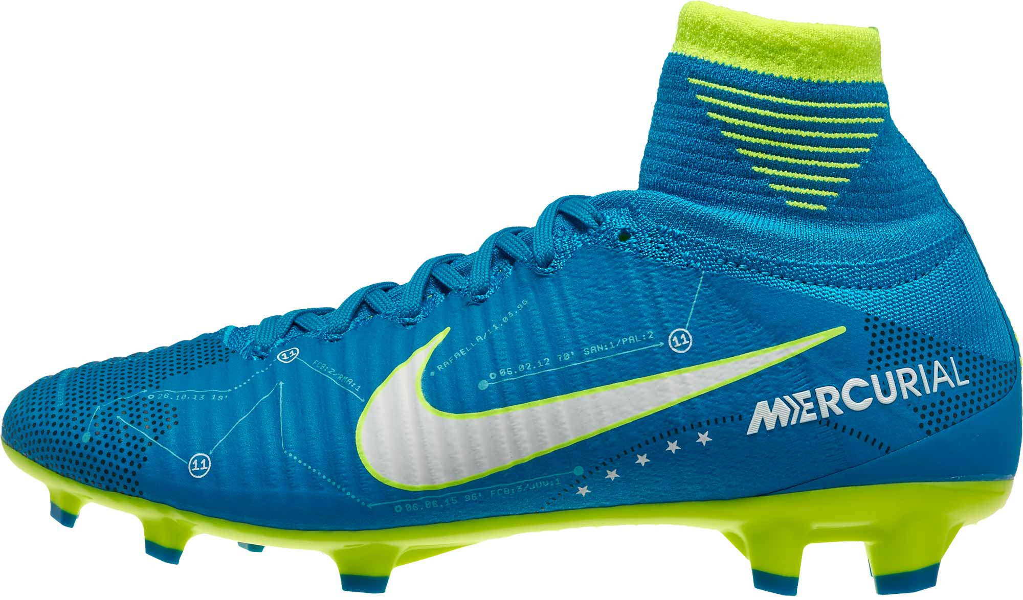 sports shoes 8f19e c0ea2 Nike Kids Mercurial Superfly V FG - Neymar - Blue Orbit   White ...