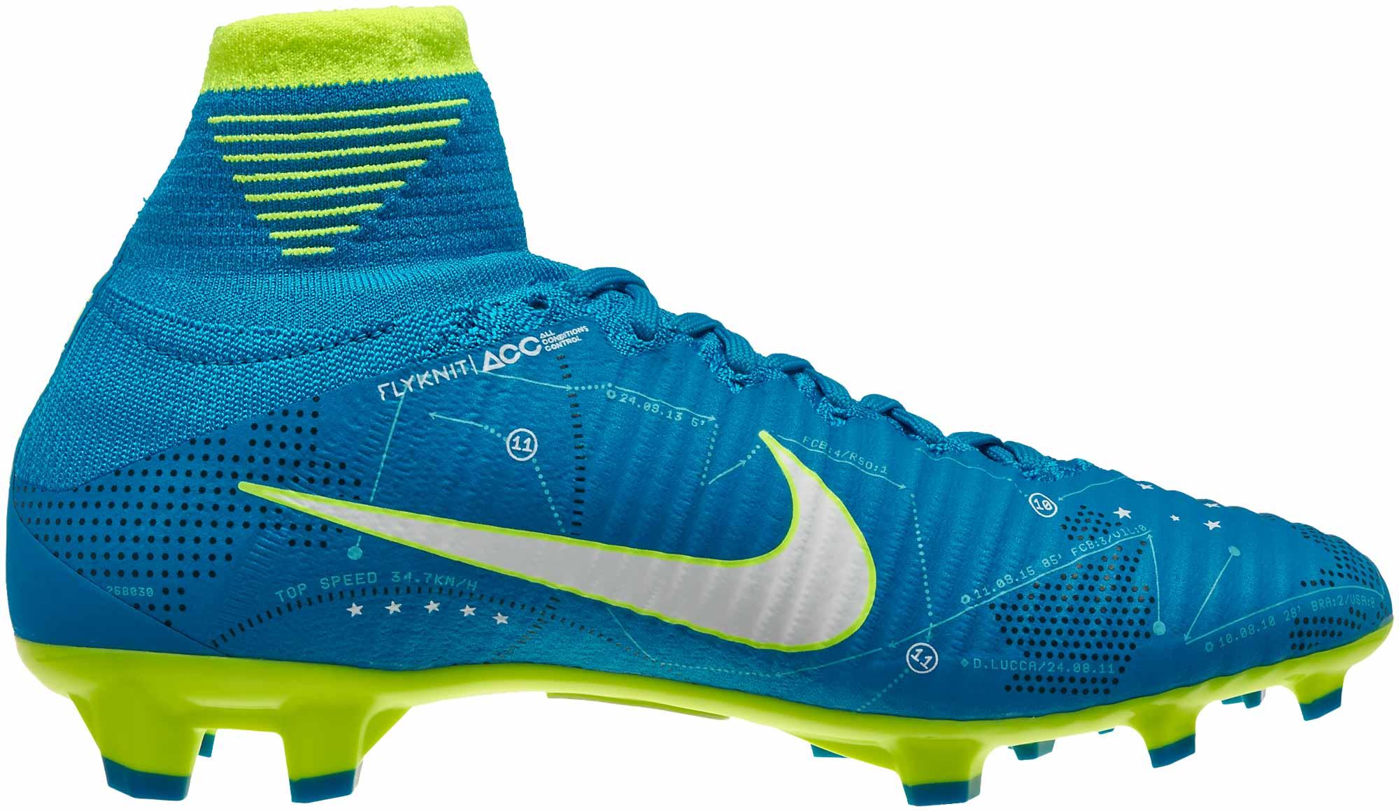 size 40 a95c3 088e5 Nike Kids Mercurial Superfly V FG - Neymar - Blue Orbit ...