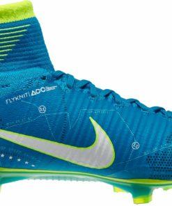 3051a22434b Nike Mercurial Superfly V SX FG Soccer Cleats - Neymar - Blue Orbit   White  - Soccer Master