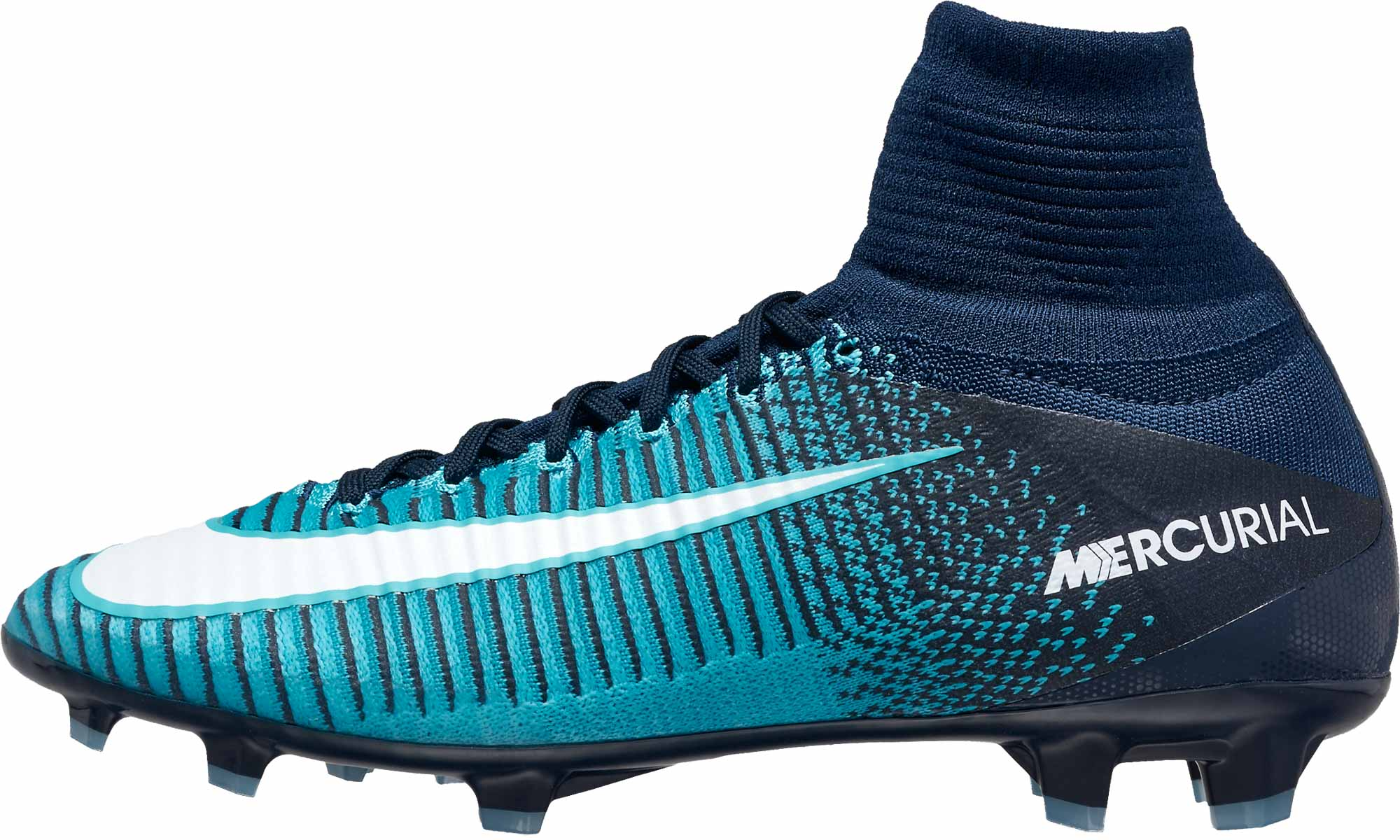 new style a26cc 11a30 Nike Kids Mercurial Superfly V FG - Obsidian/White - Soccer ...