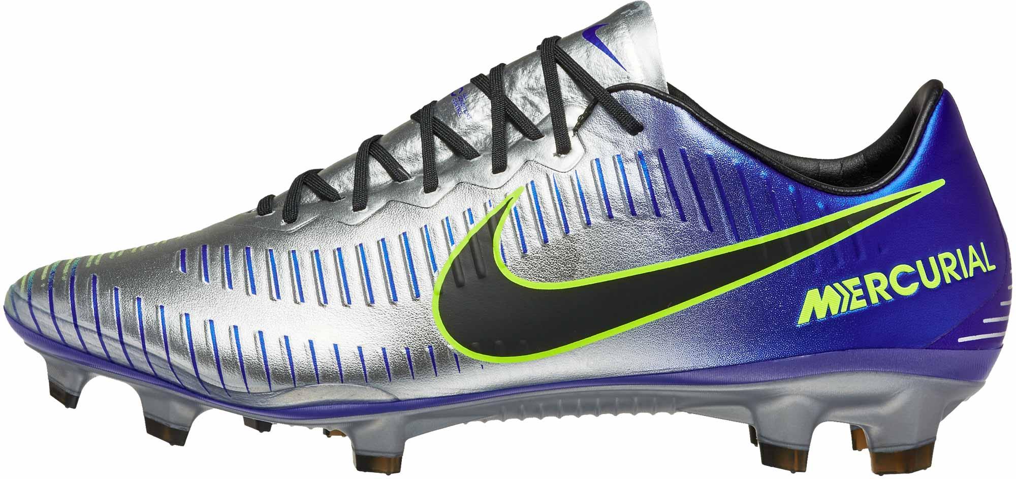 reputable site 43237 44d4e Nike Mercurial Vapor XI FG - Neymar Jr - Racer Blue & Chrome