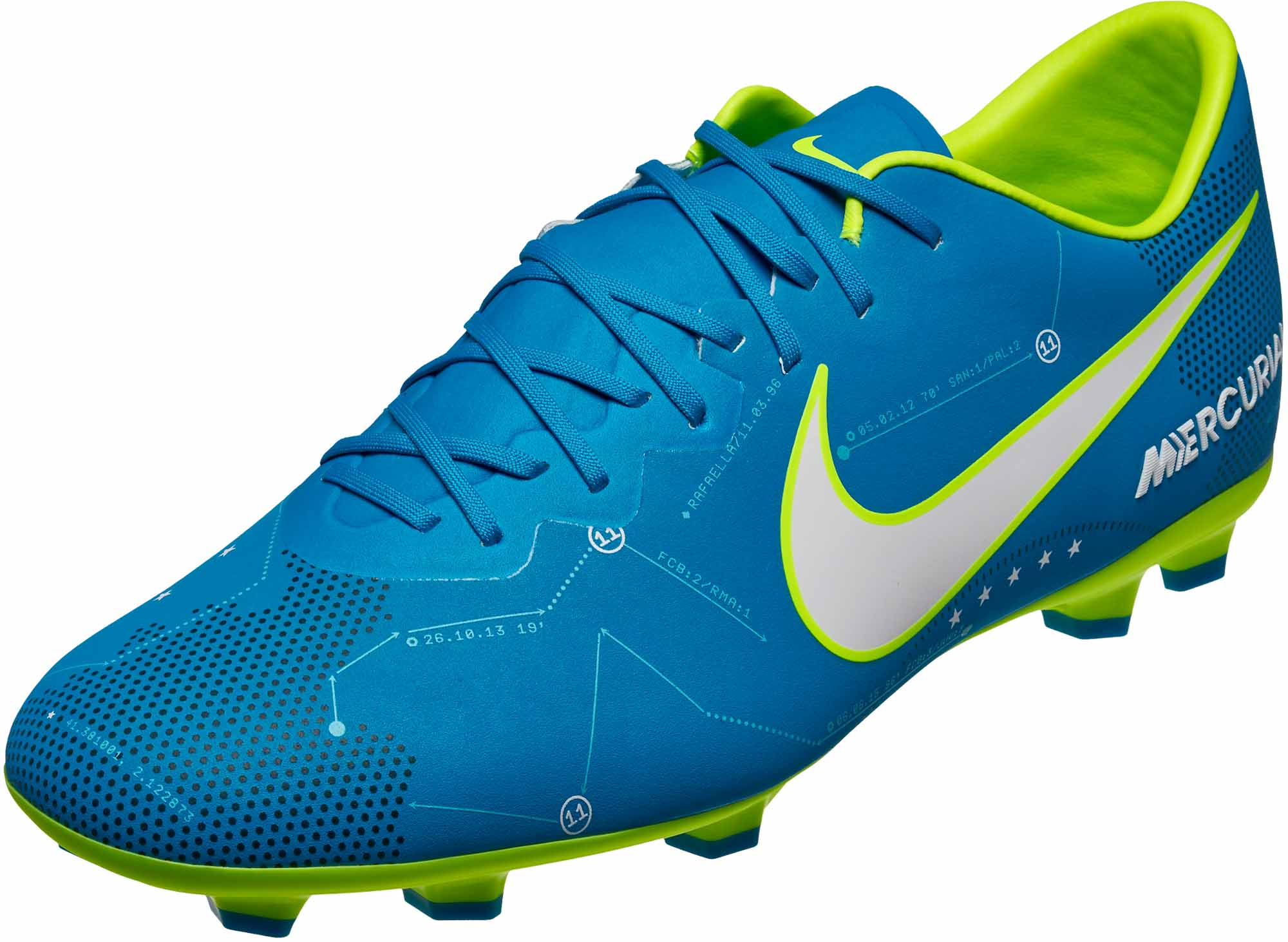 e3e391469951 nike kids mercurial vapor xi sx fg soccer cleats – neymar – blue. Download  Image 2000 X 1462