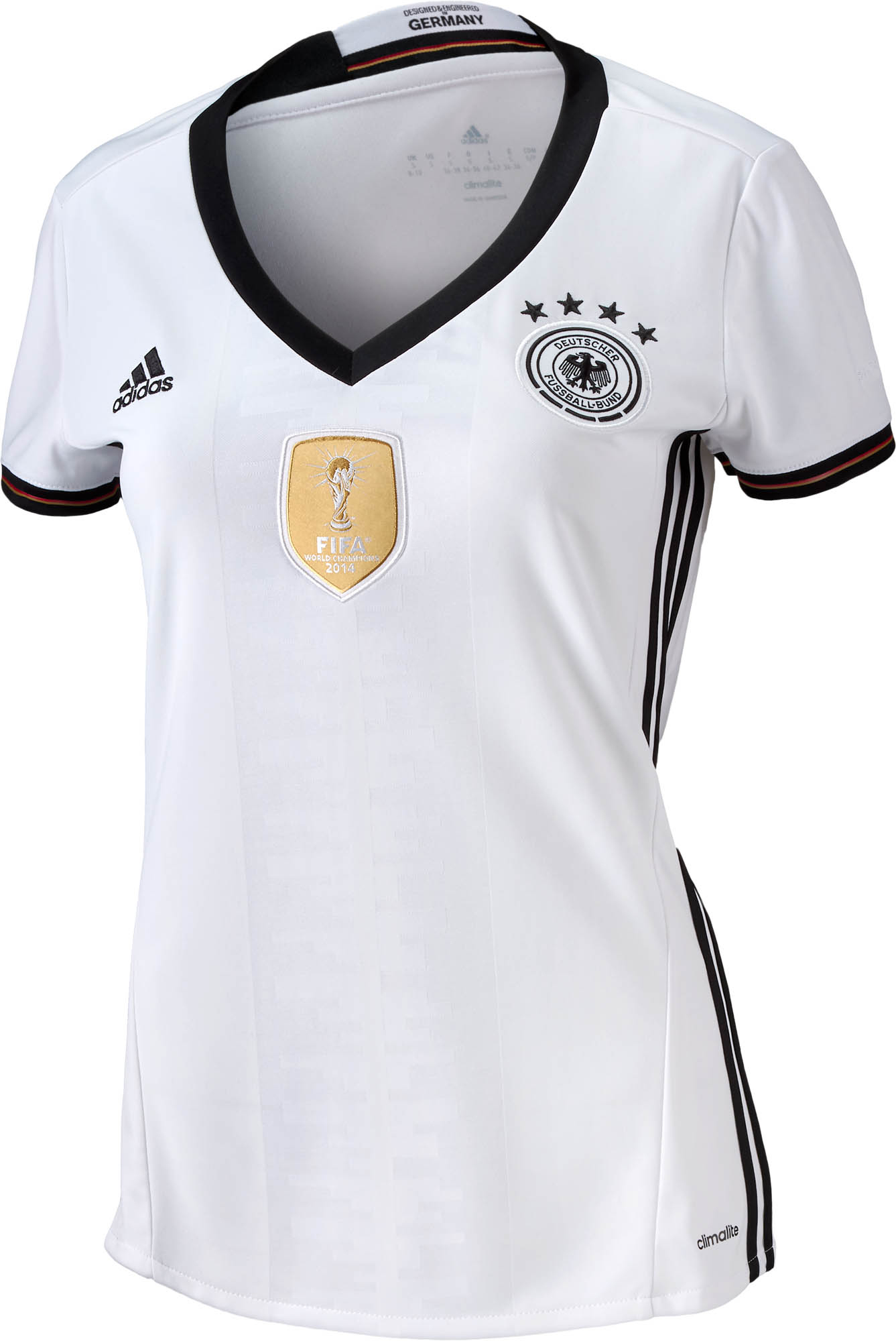 adidas Womens Germany Home Jersey 2015-2016 - Soccer Master 3d3d73adc
