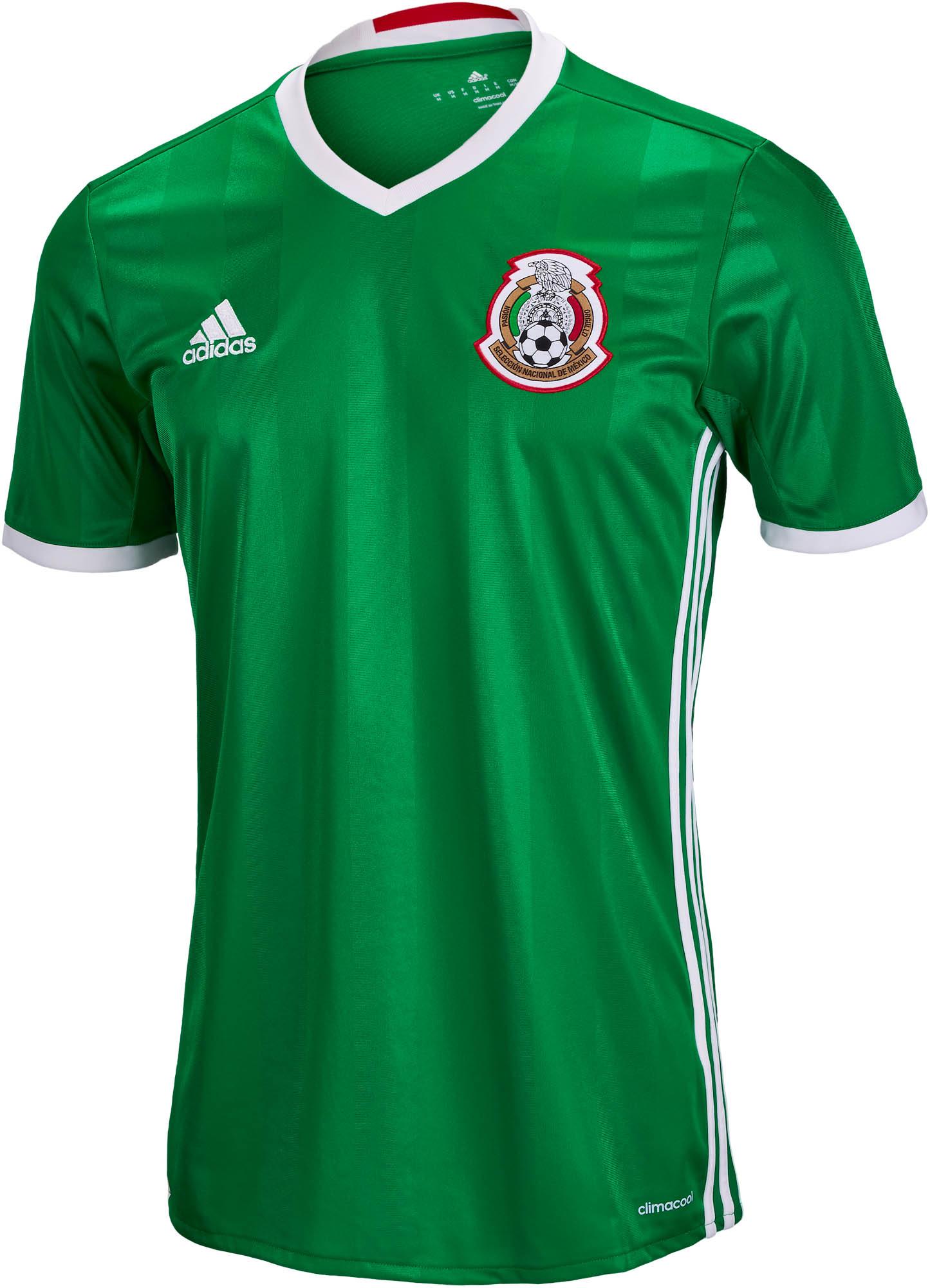 adidas Mexico Home Jersey 2016-17 - Soccer Master