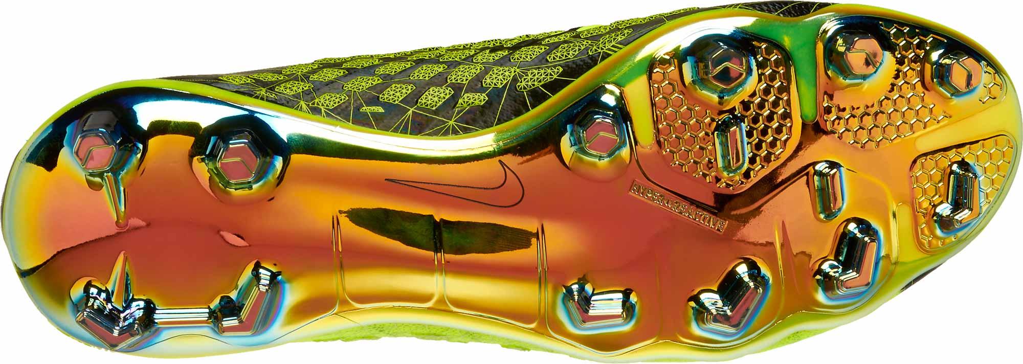 latest design sports shoes quality design Nike Kids Hypervenom Phantom III DF FG - EA Sports - Volt ...