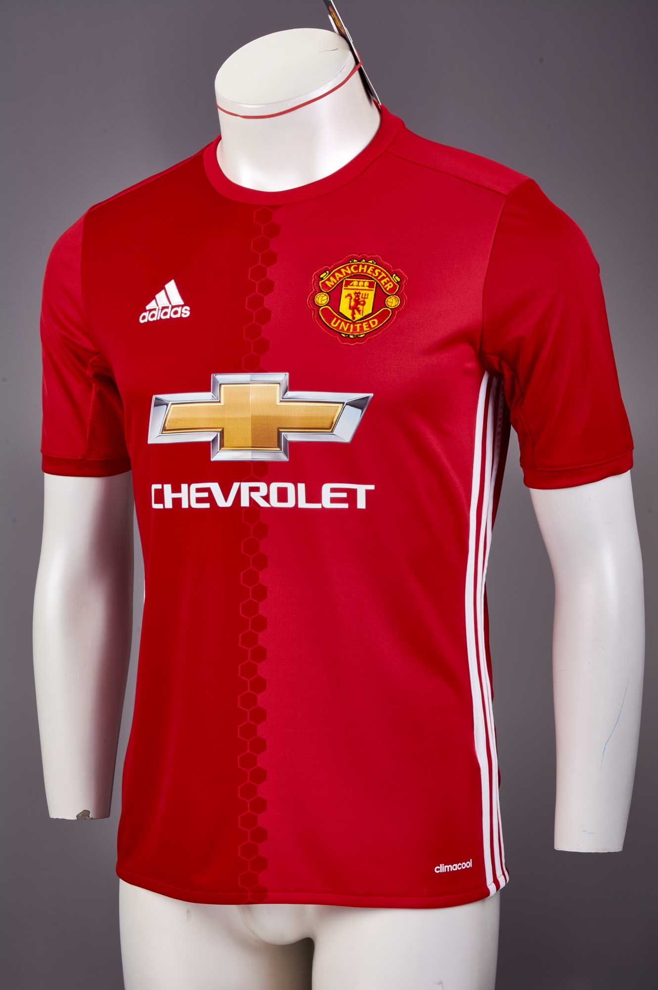finest selection 31426 4c383 adidas Kids Manchester United Home Jersey 2016-17