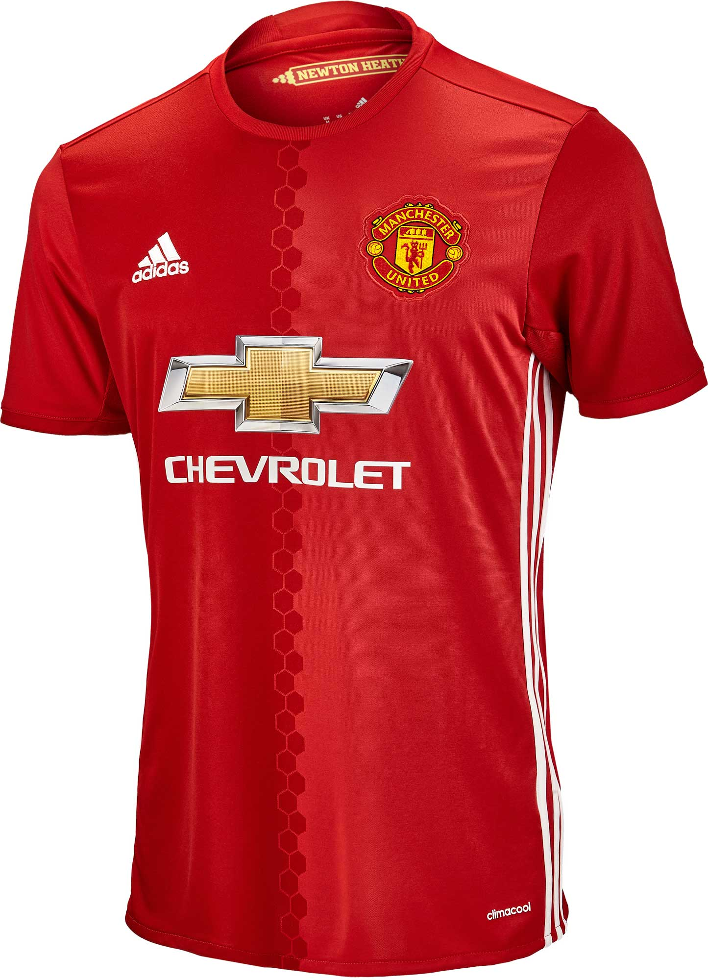 adidas Manchester United Home Jersey 2016-17 - Soccer Master