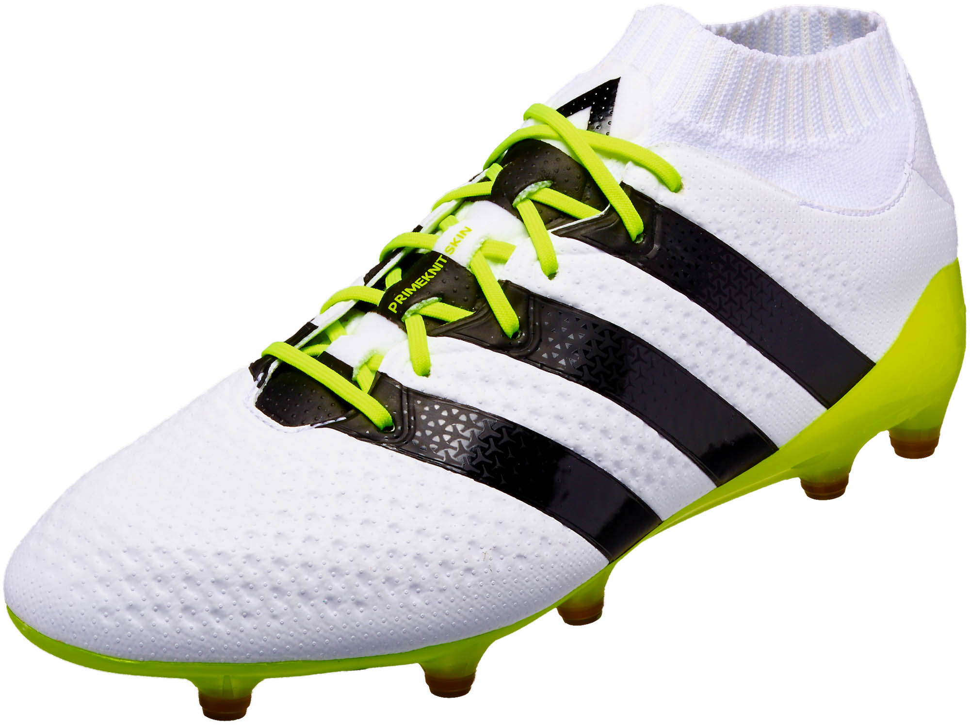 6161297bb adidas Womens ACE 16.1 Primeknit FG AG - White Core Black - Soccer ...