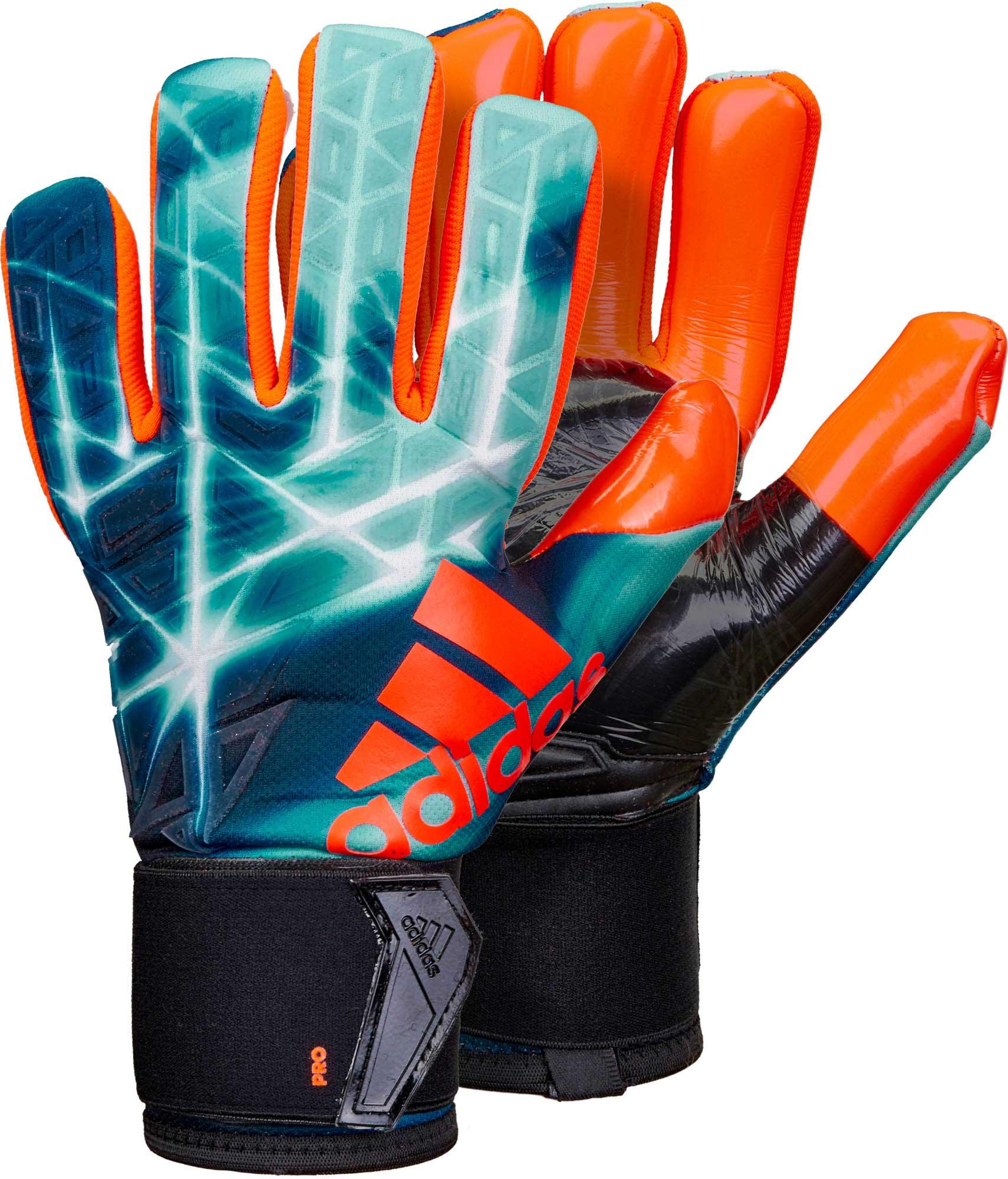 adidas ACE Trans Pro Goalkeeper Gloves – Manuel Neuer – Energy Blue   Black 295e0597a