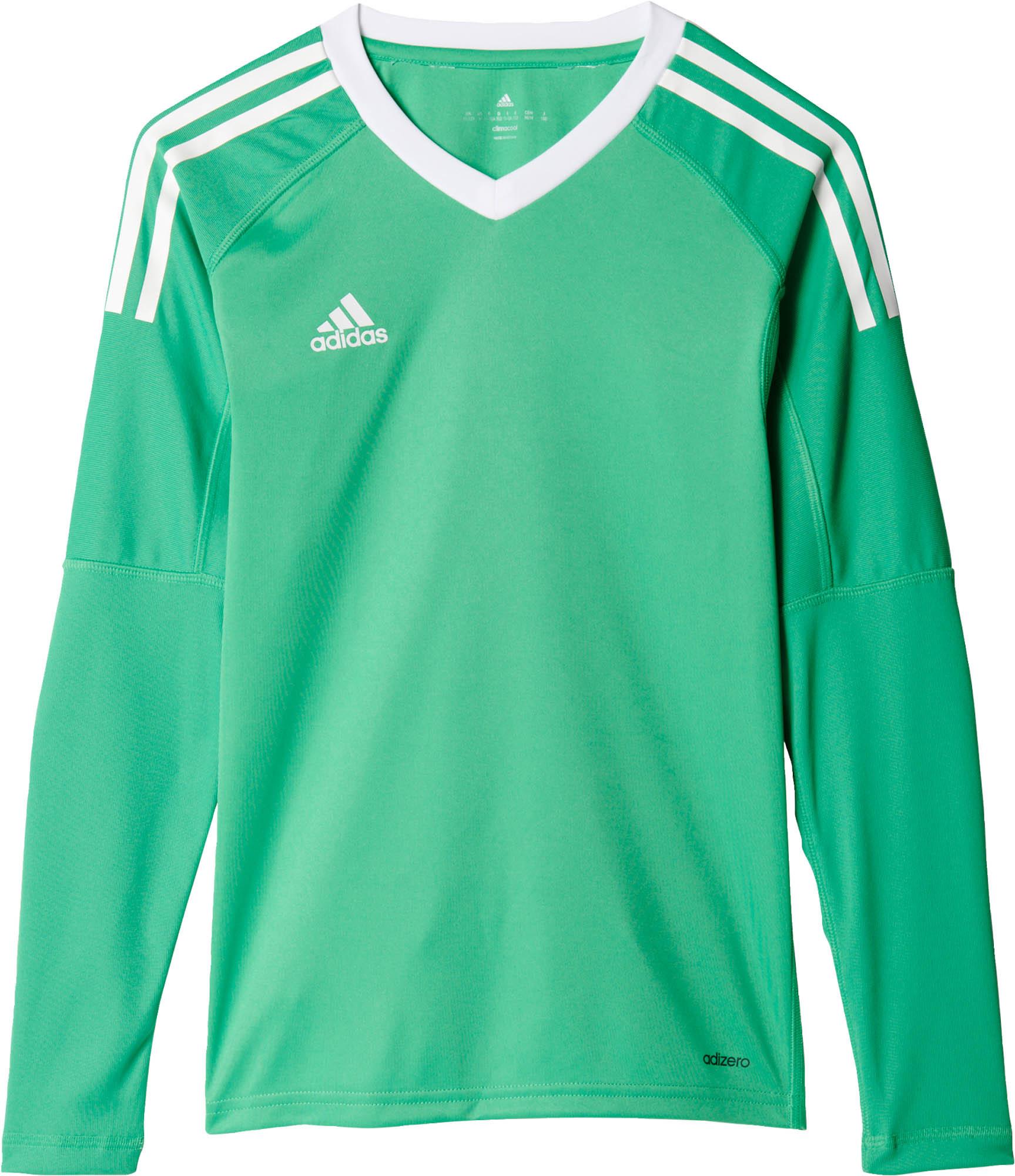 adidas Kids Revigo 17 Goalkeeper Jersey - Energy Green & White ...