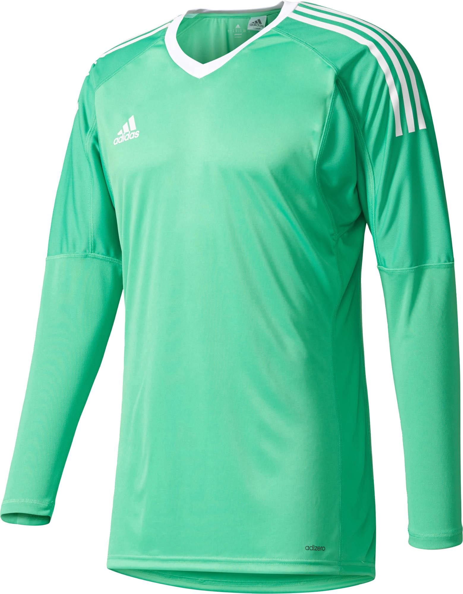 adidas Revigo 17 Goalkeeper Jersey - Energy Green & White - Soccer ...