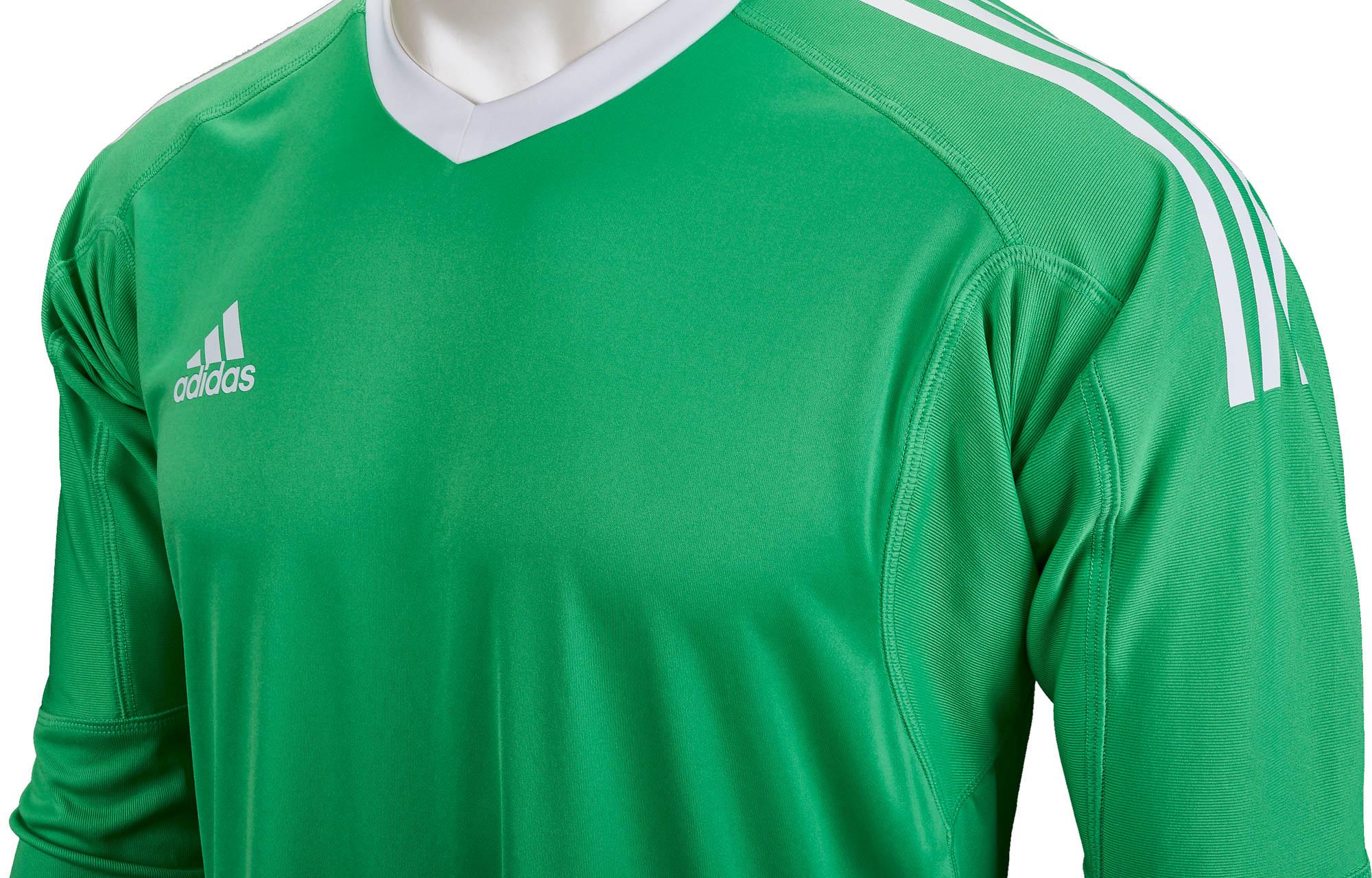 5f36fd492 adidas Revigo 17 Goalkeeper Jersey - Energy Green & White - Soccer ...