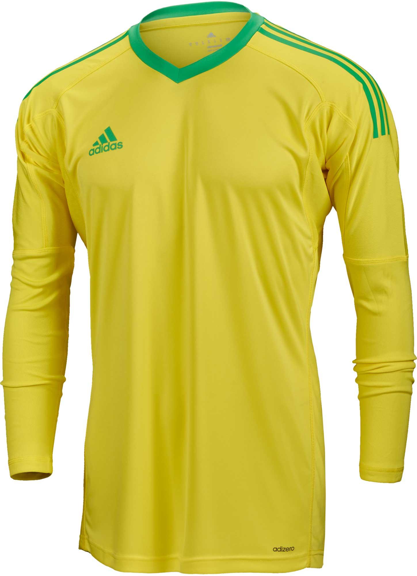 adidas Revigo 17 Goalkeeper Jersey - Bright Yellow & Energy Green