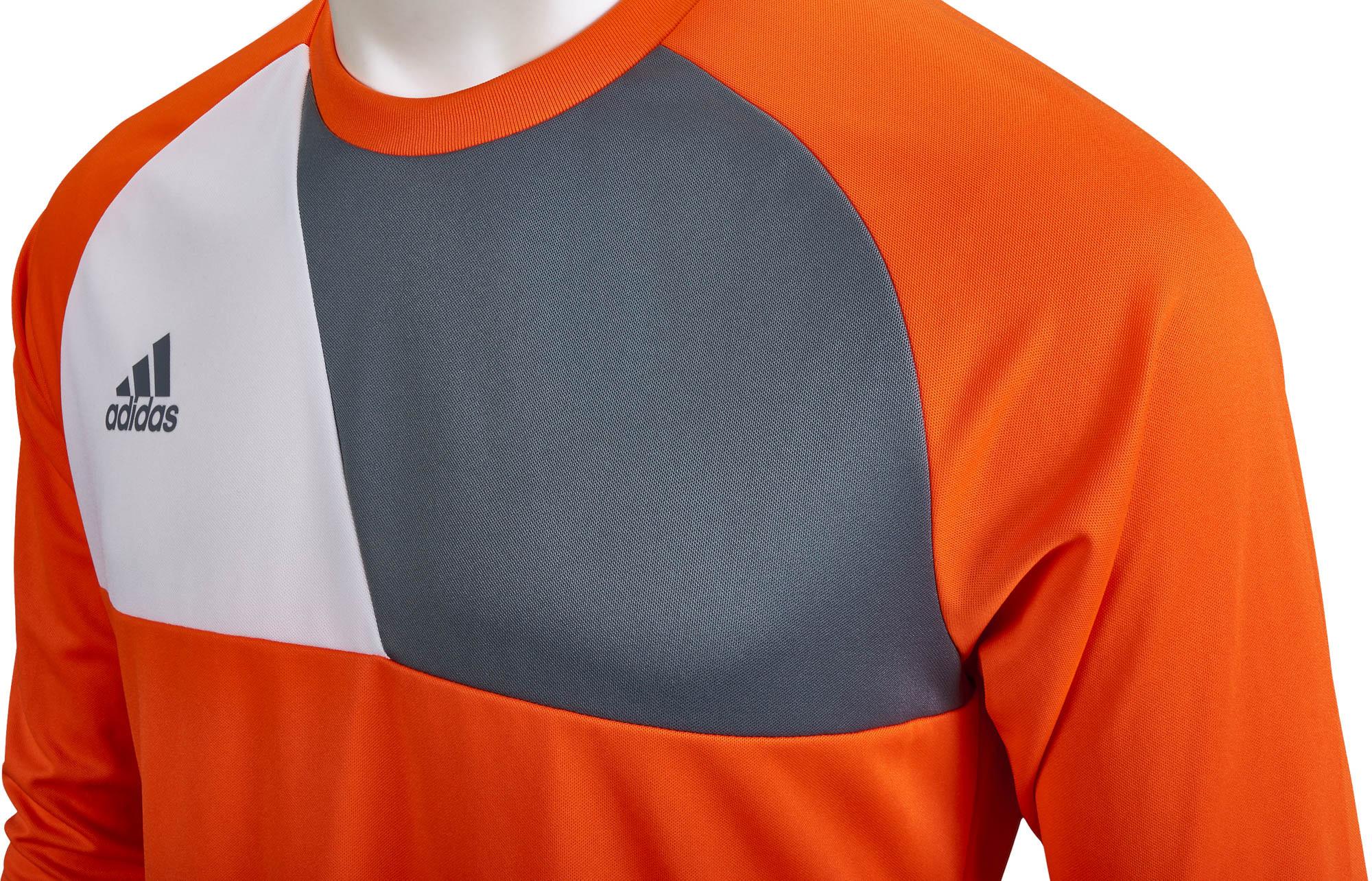 adidas Assita 17 Goalkeeper Jersey - Orange & White