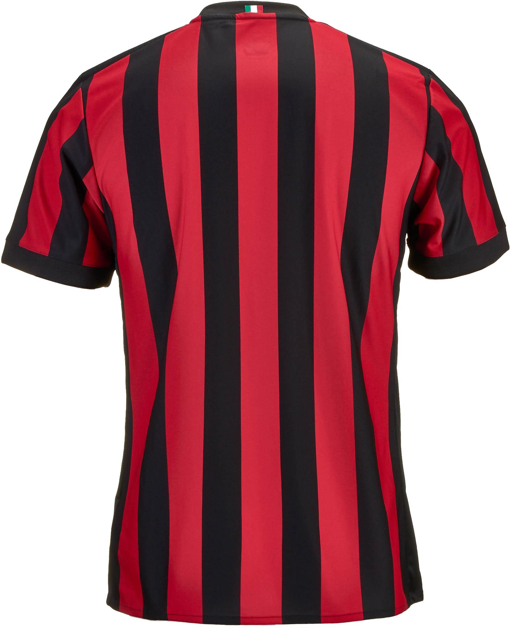 save off 09350 946d0 adidas AC Milan Home Jersey 2017-18 - Soccer Master