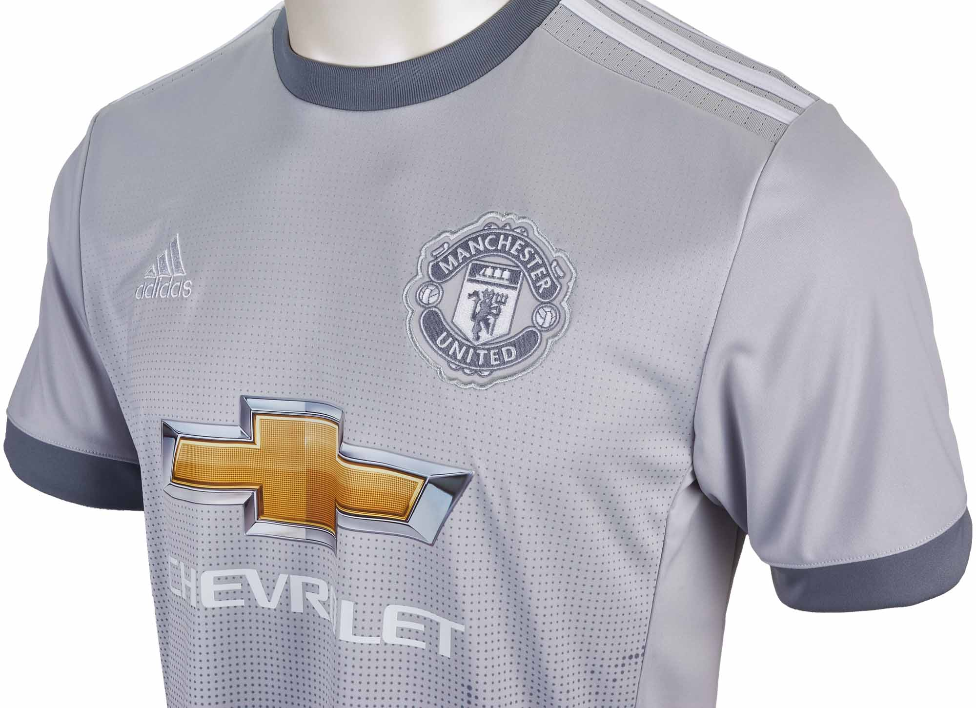 adidas Kids Manchester United 3rd Jersey 2017-18 - Soccer ...