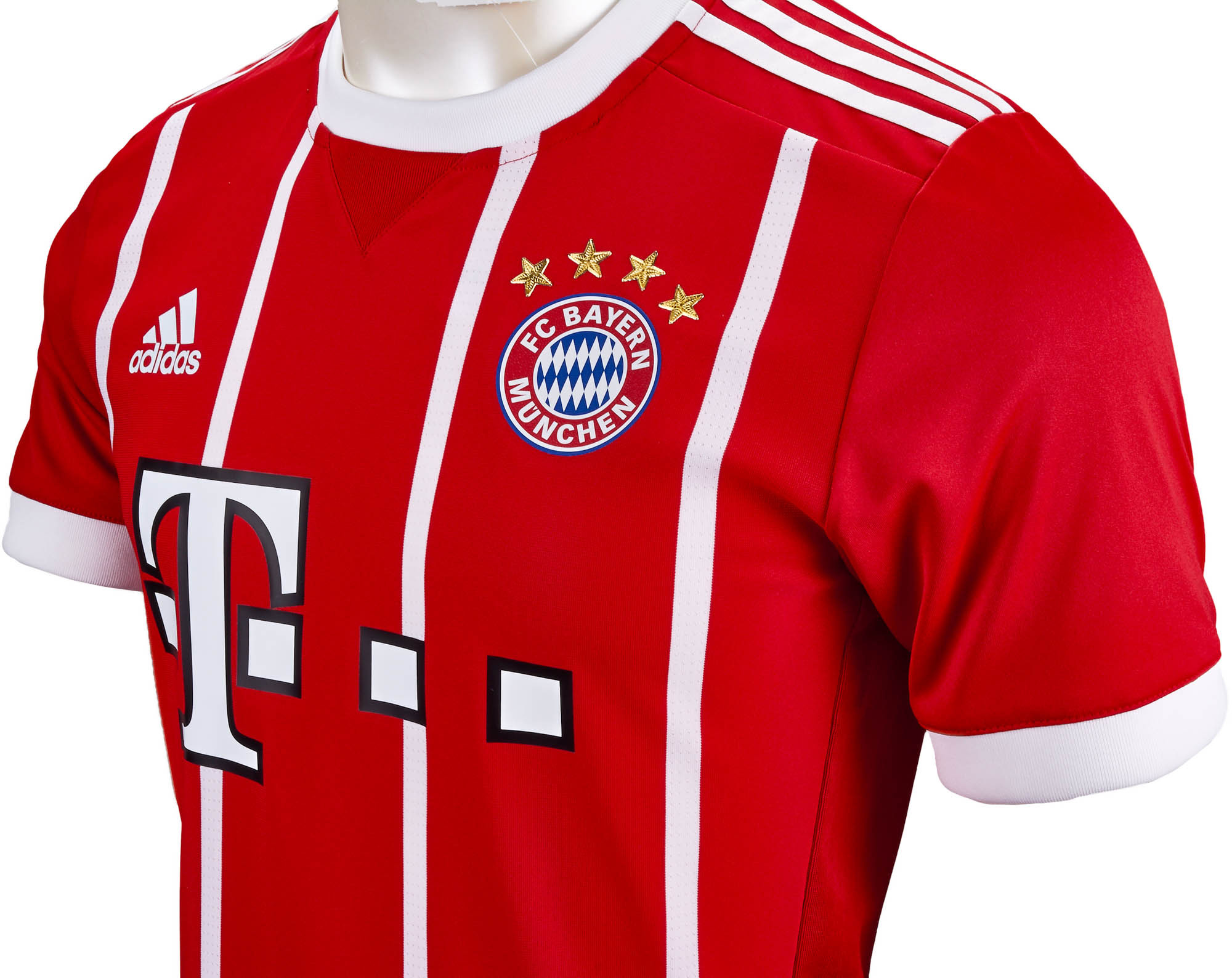 brand new 553a4 cb4ea adidas Bayern Munich Authentic Home Jersey 2017-18 NS - Soccer Master