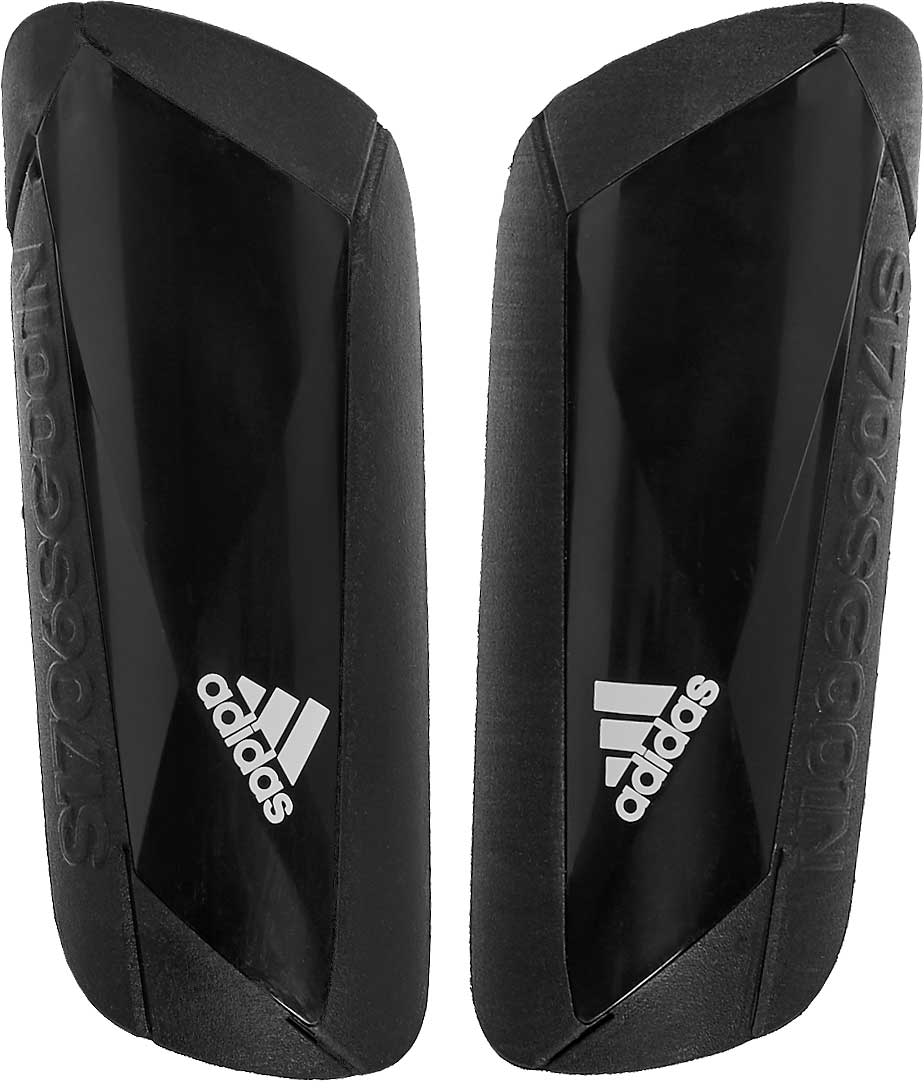 ed7268230 adidas Ghost Carbon Shinguards - Black & White - Soccer Master