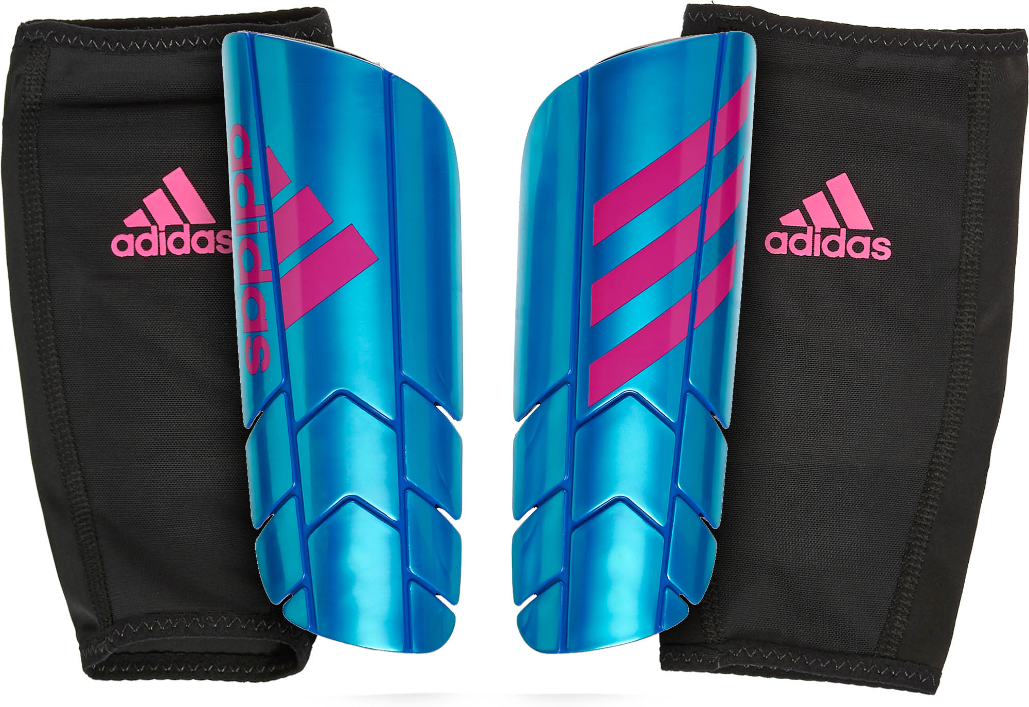 new arrival 5683a ca54c adidas Ghost Pro Shinguards - Blue   Shock Pink - Soccer Master