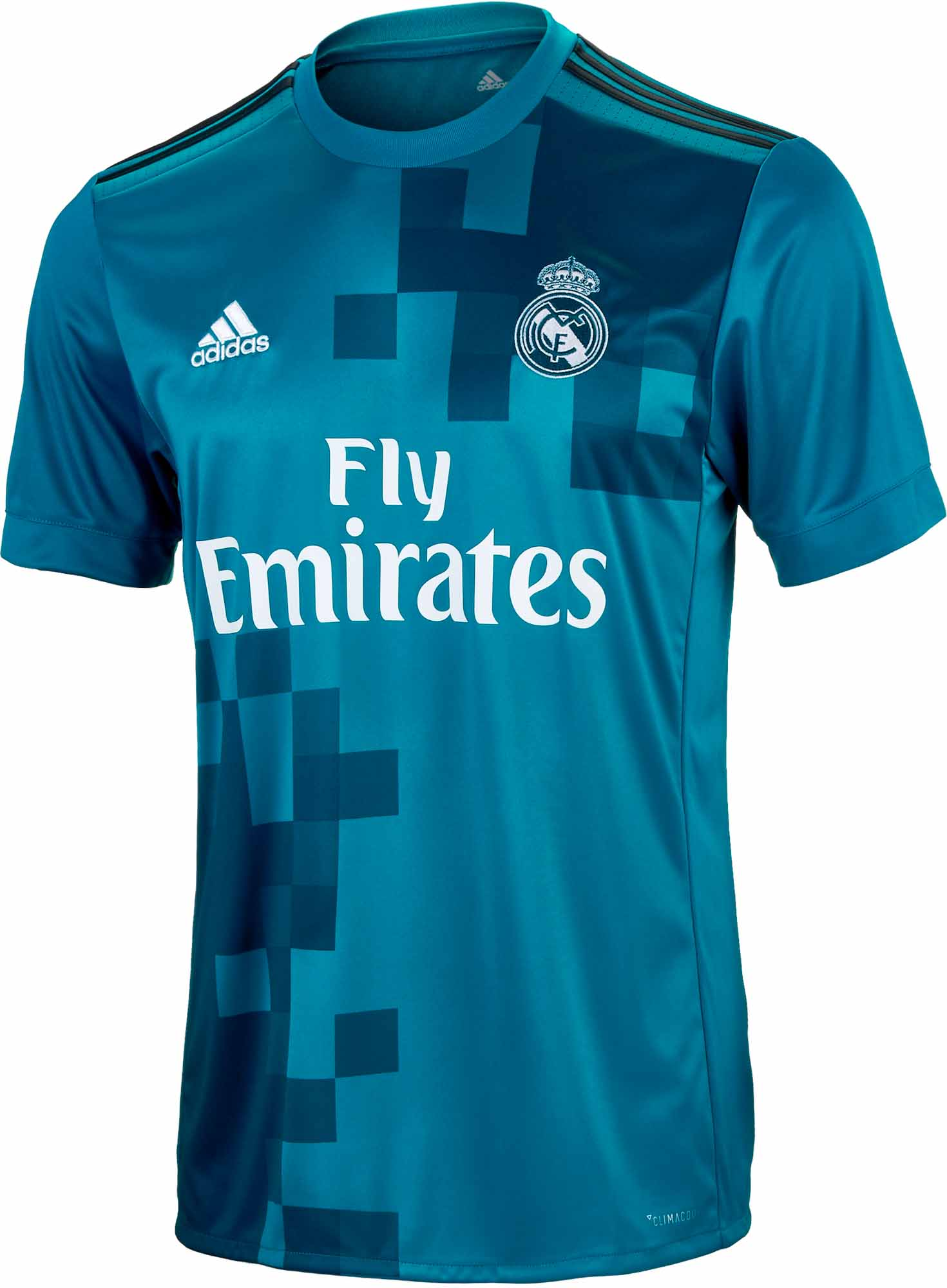 best sneakers 29a53 e1754 Kids 2017/18 adidas Real Madrid 3rd Jersey