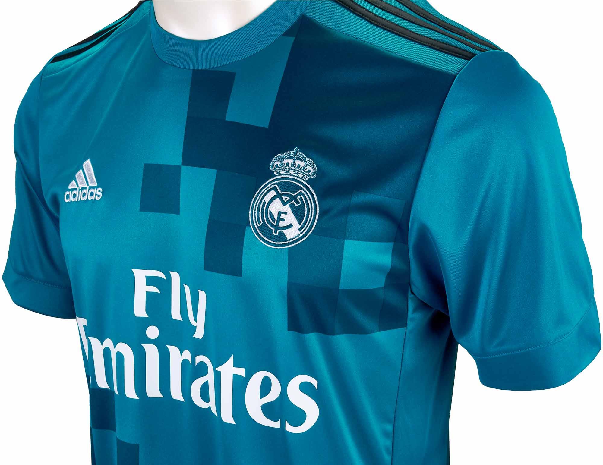 959c8fc025554 Kids 2017/18 adidas Real Madrid 3rd Jersey - Soccer Master