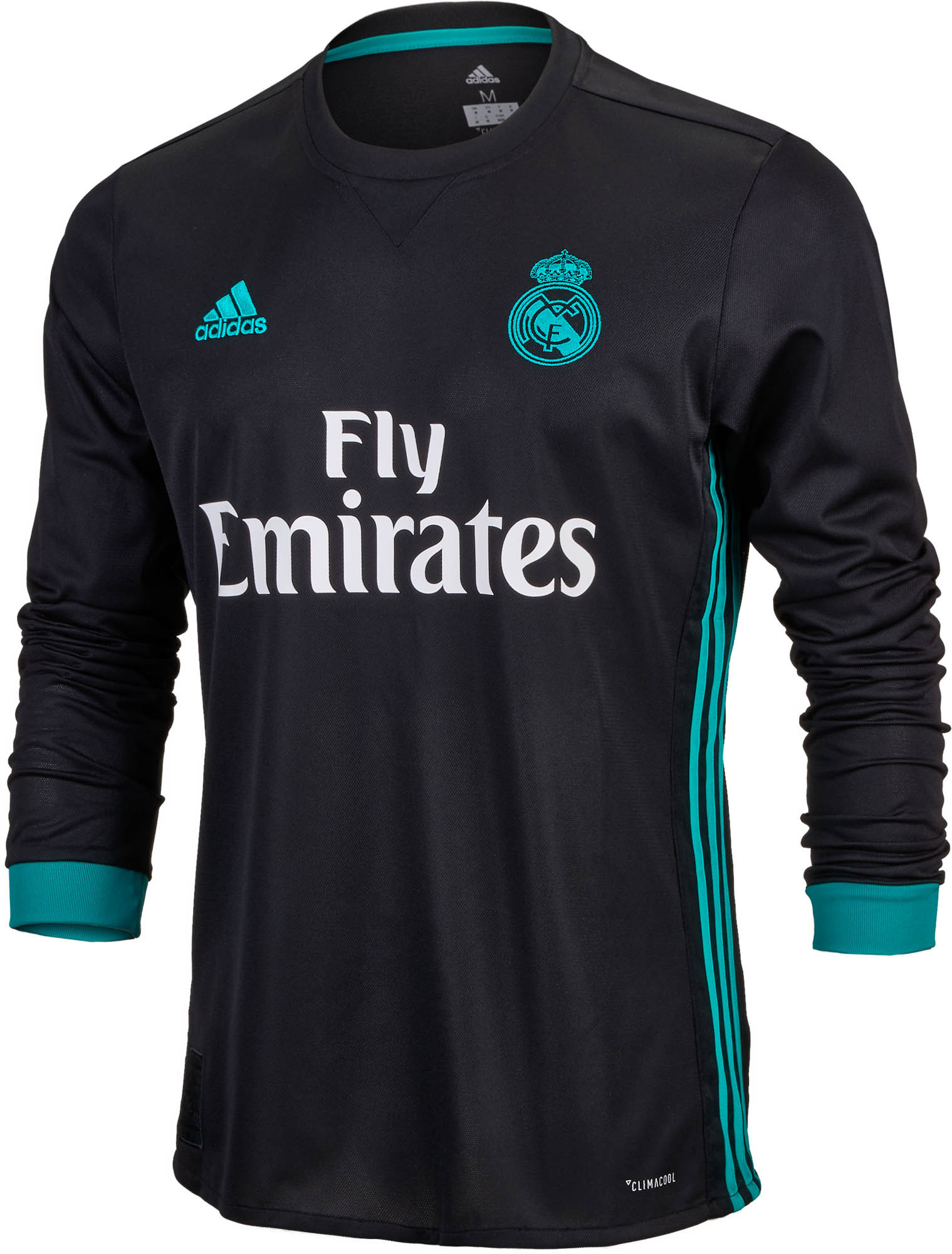 best service 4c237 d9edc Away L Real Adidas Madrid 2017-18 s Jersey designation ...