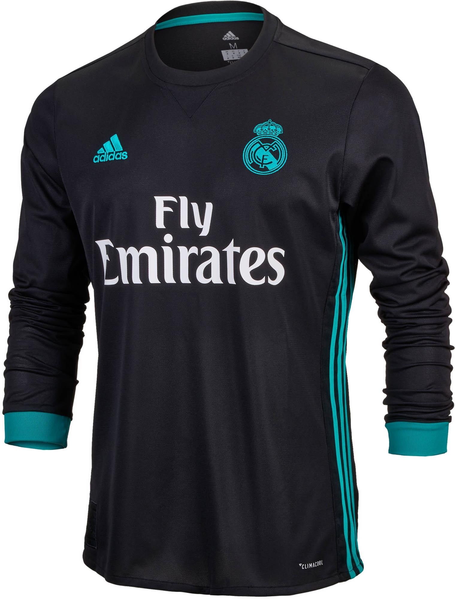 more photos 2dd75 ed6b7 Real Madrid Away Jersey s 2017-18 L Adidas designation ...