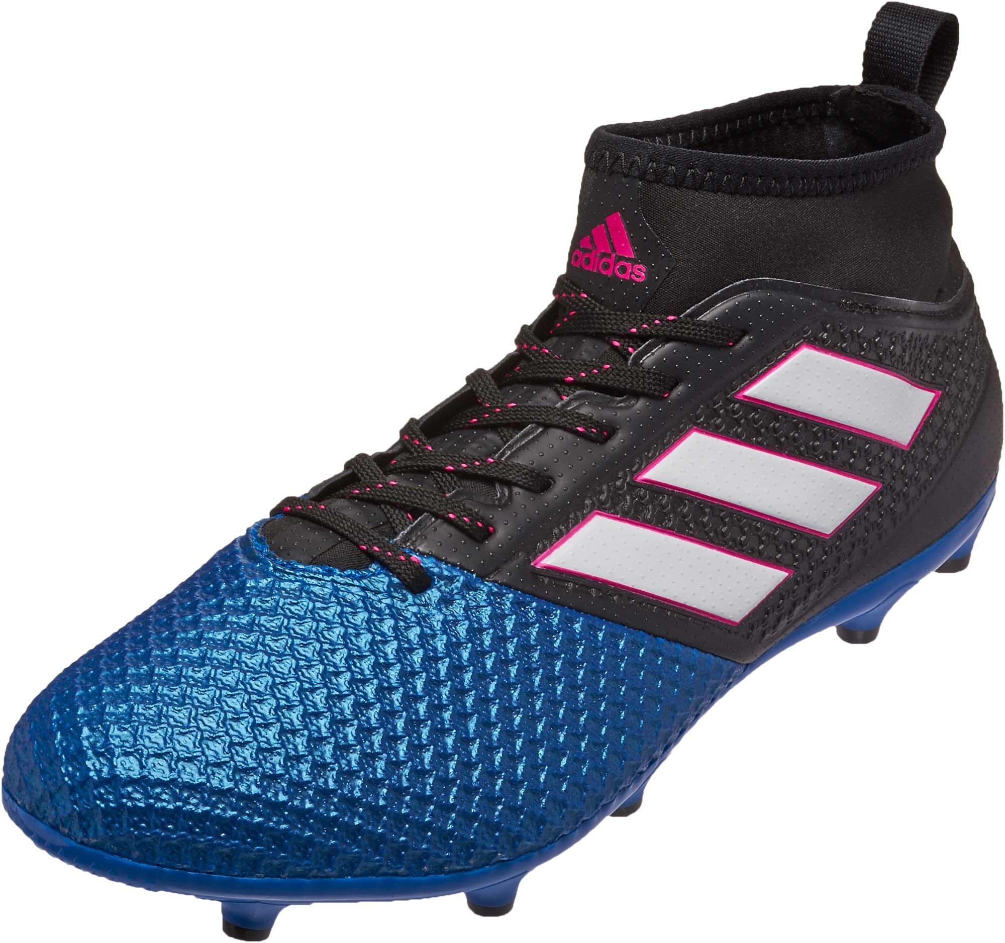 1e11119b214 ... czech adidas ace 17.3 primemesh fg soccer cleats black blue soccer  6df1a 654d1