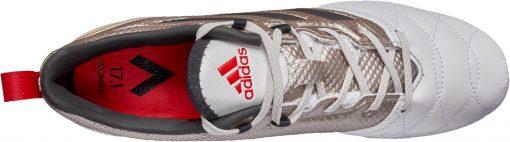 778d14a8d adidas Womens ACE 17.1 FG Soccer Cleats - Metallic Platinum   Red ...