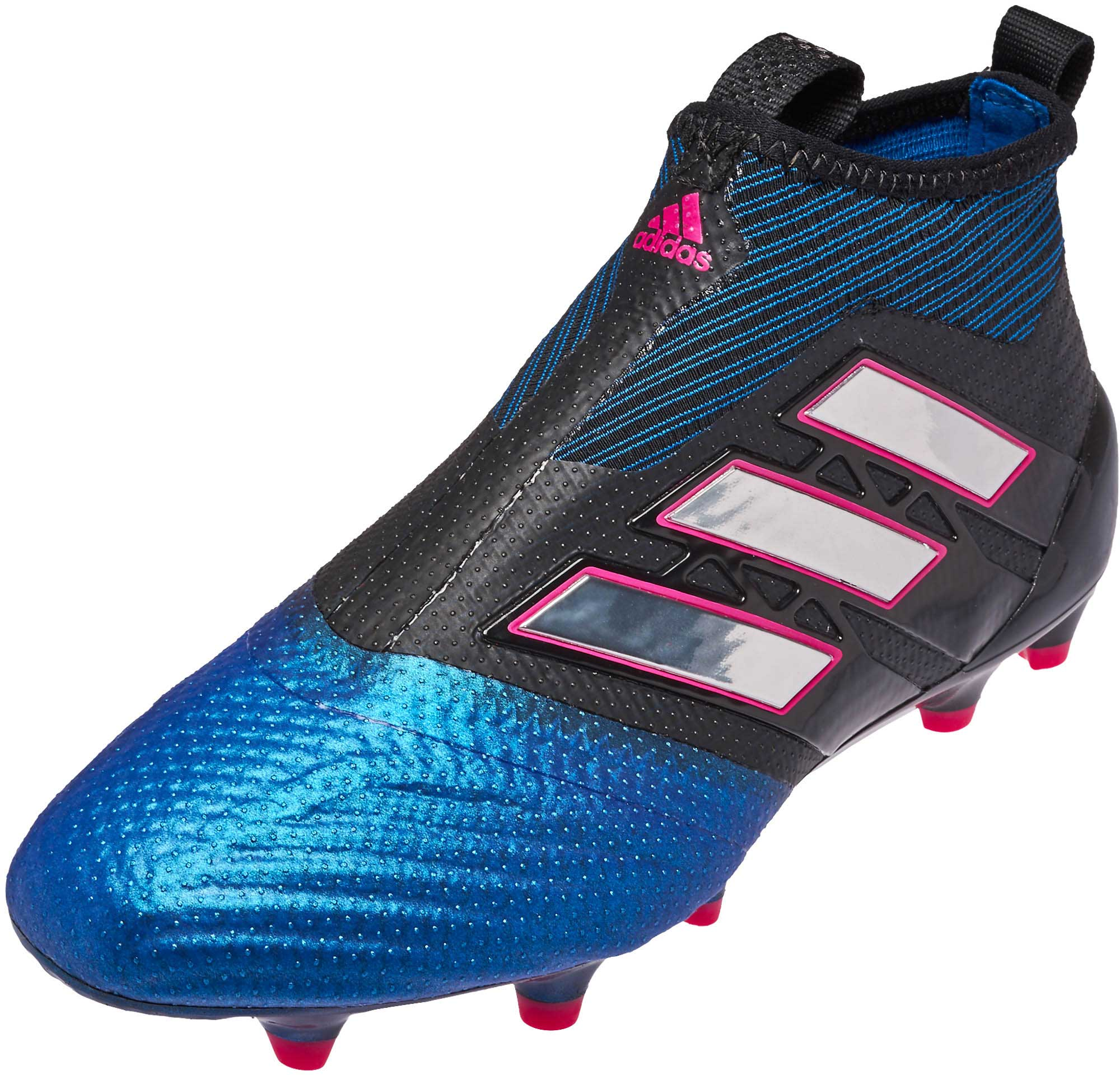 6ed43c448ae2 adidas Kids ACE 17+ Purecontrol FG Soccer Cleats - Black & White ...