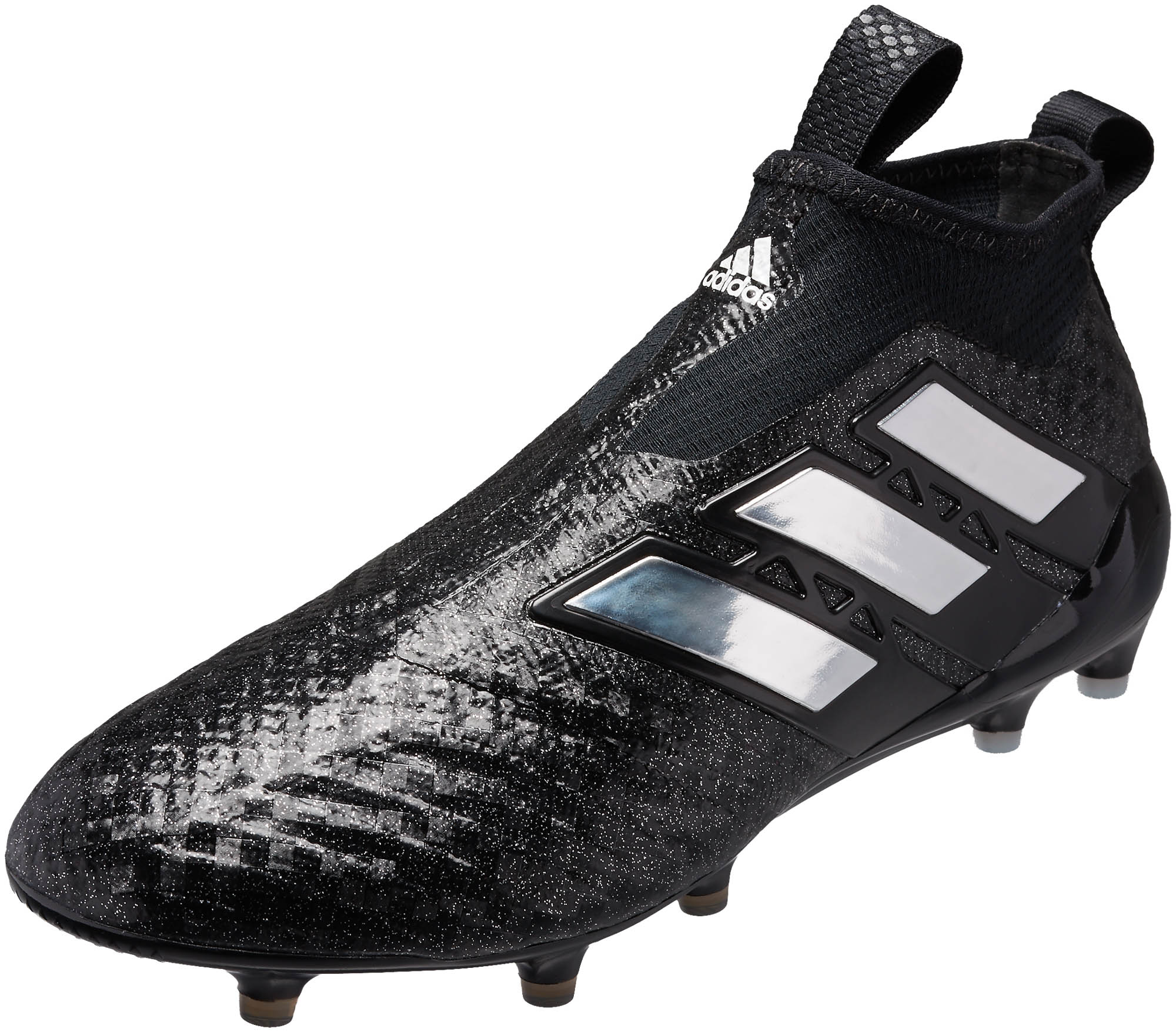 super popular e66cc 6c2f2 adidas ACE 17+ Purecontrol FG Soccer Cleats – Black   White