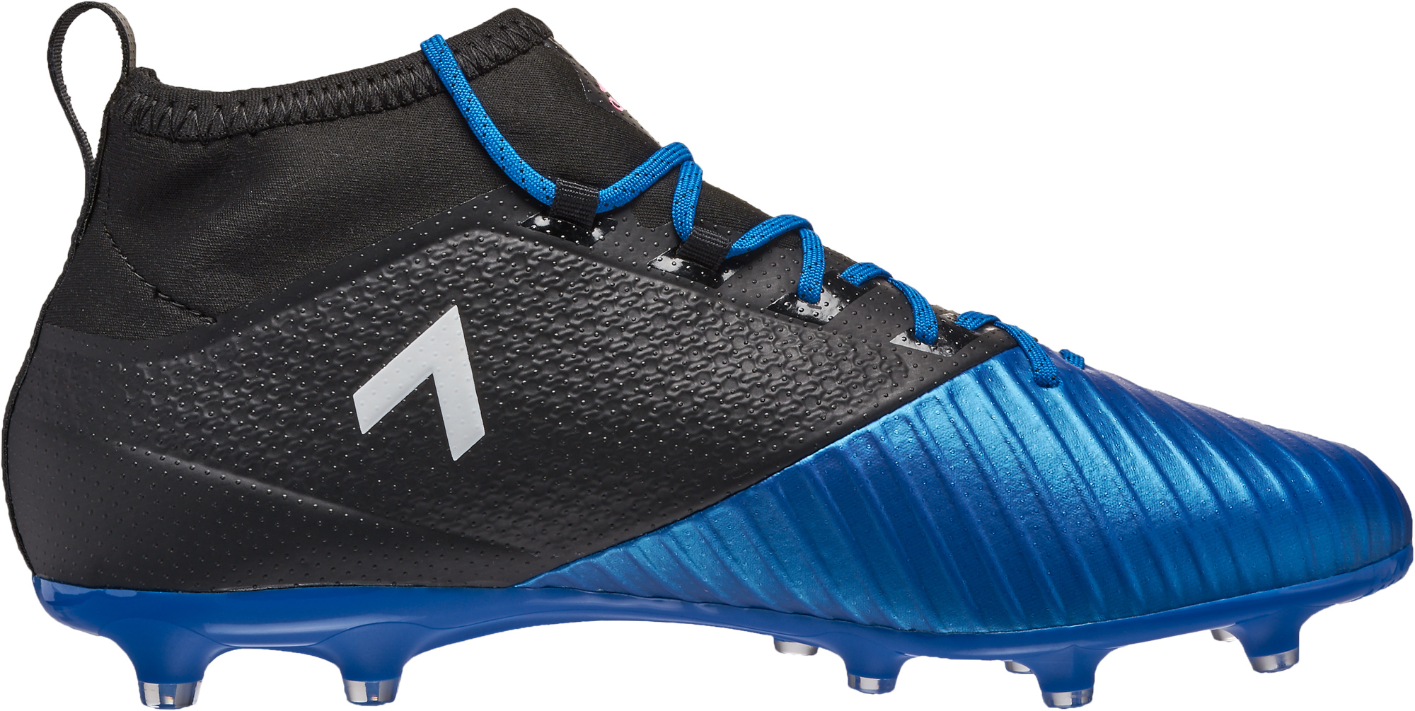 new style 13ed7 a3a78 adidas ACE 17.2 Primemesh FG Soccer Cleats - Black & Blue ...