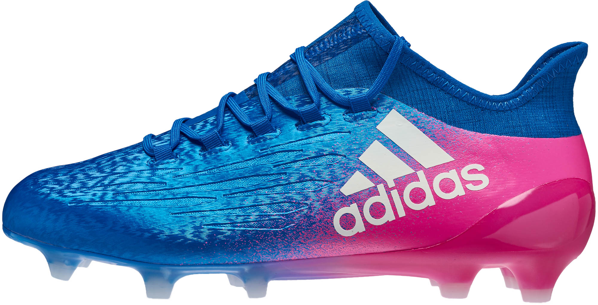 c6e82d4ed adidas X 16.1 FG Soccer Cleats - Blue   Shock Pink - Soccer Master