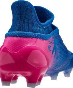 8e5436507424 adidas Kids X 16+ Purechaos FG Soccer Cleats - Blue   Shock Pink - Soccer  Master