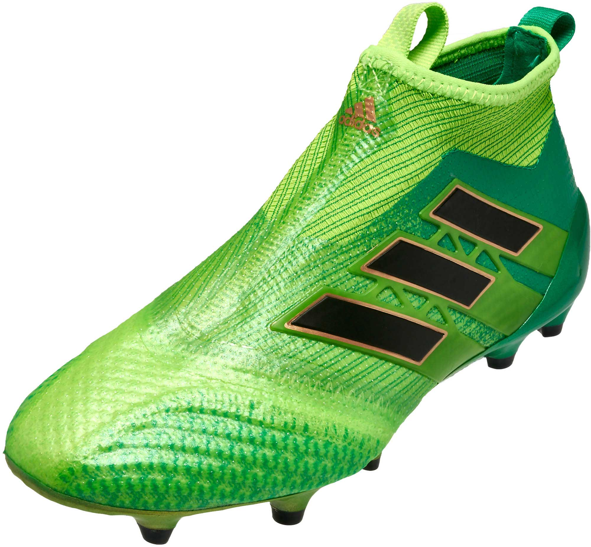 quality design adf3f 470d9 adidas Kids ACE 17+ Purecontrol FG Soccer Cleats – Solar Green  Black