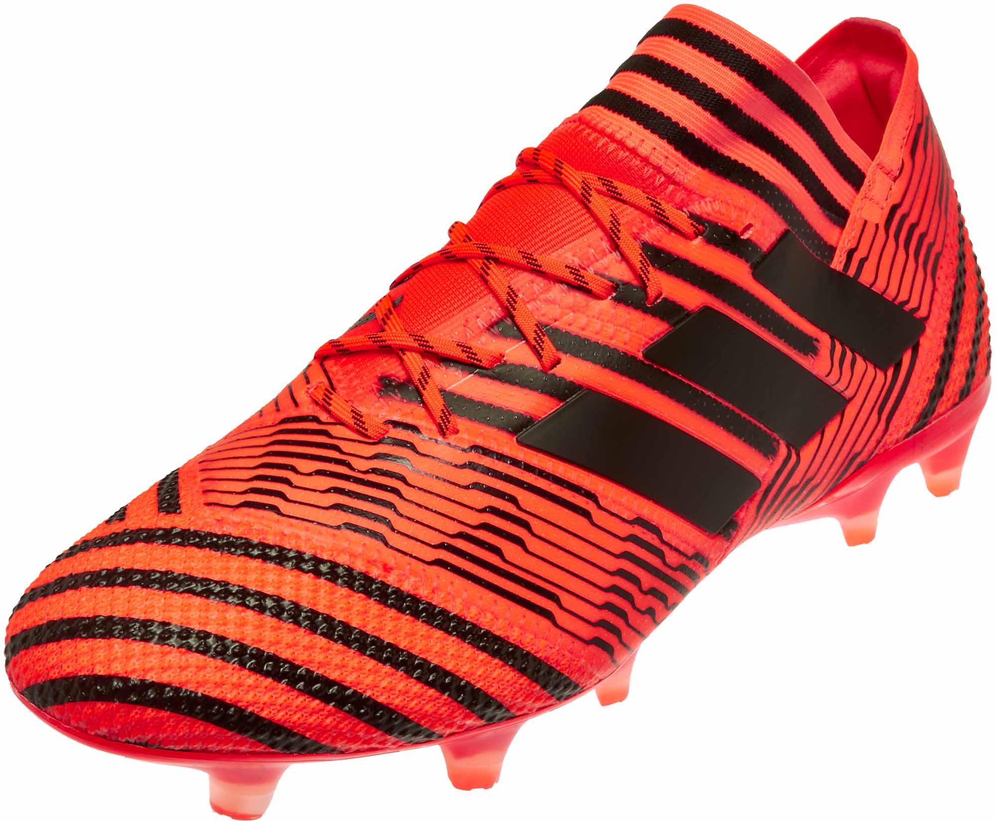 sale retailer ca9e0 1cfad adidas Nemeziz 17.1 FG Soccer Cleats – Solar Orange   Core Black