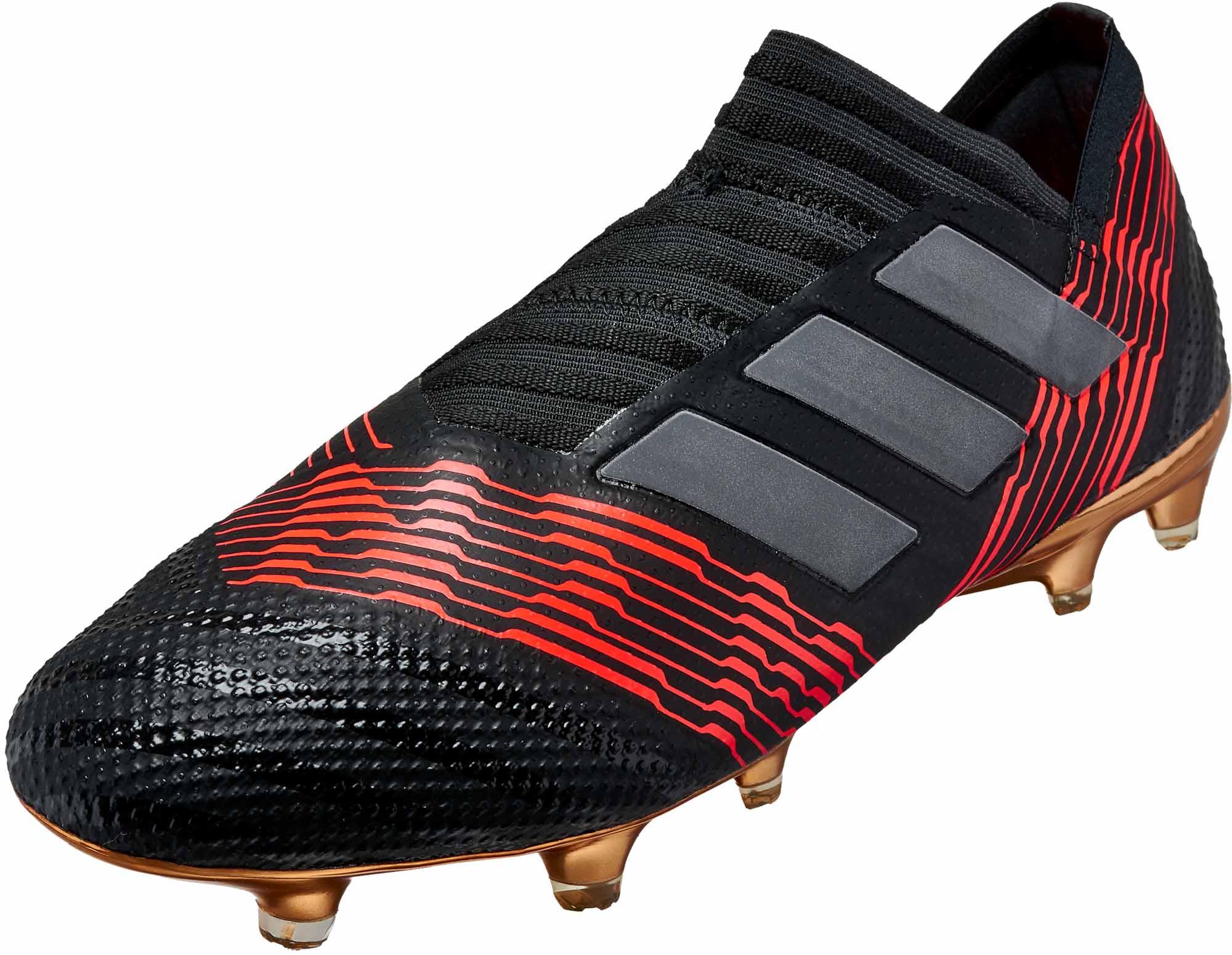 4b450da871bc adidas Nemeziz 17+ 360agility FG - Black   Solar Red - Soccer Master