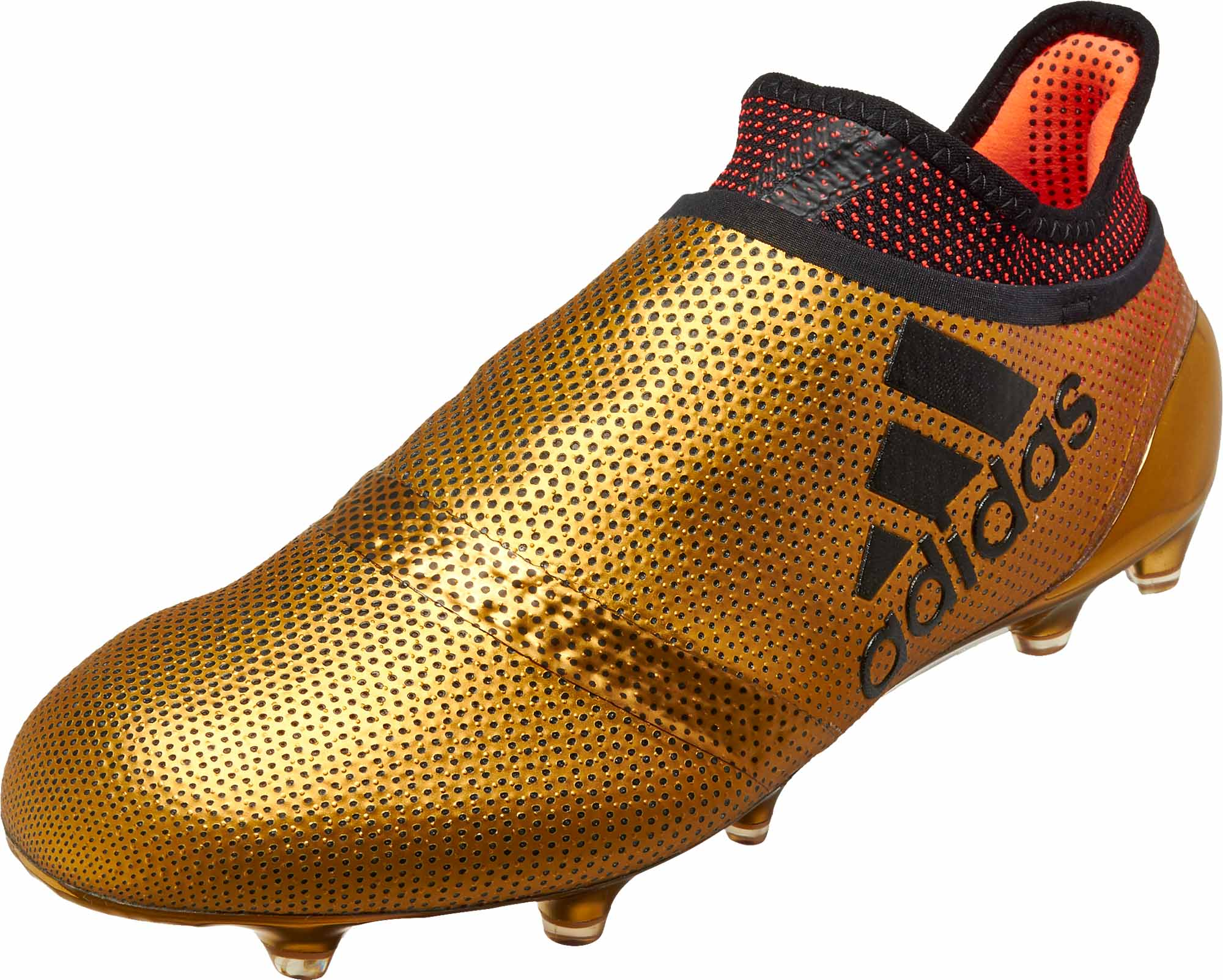adidas X 17+ Purechaos FG - Tactile Gold Metallic   Solar Red ... cd3c24300