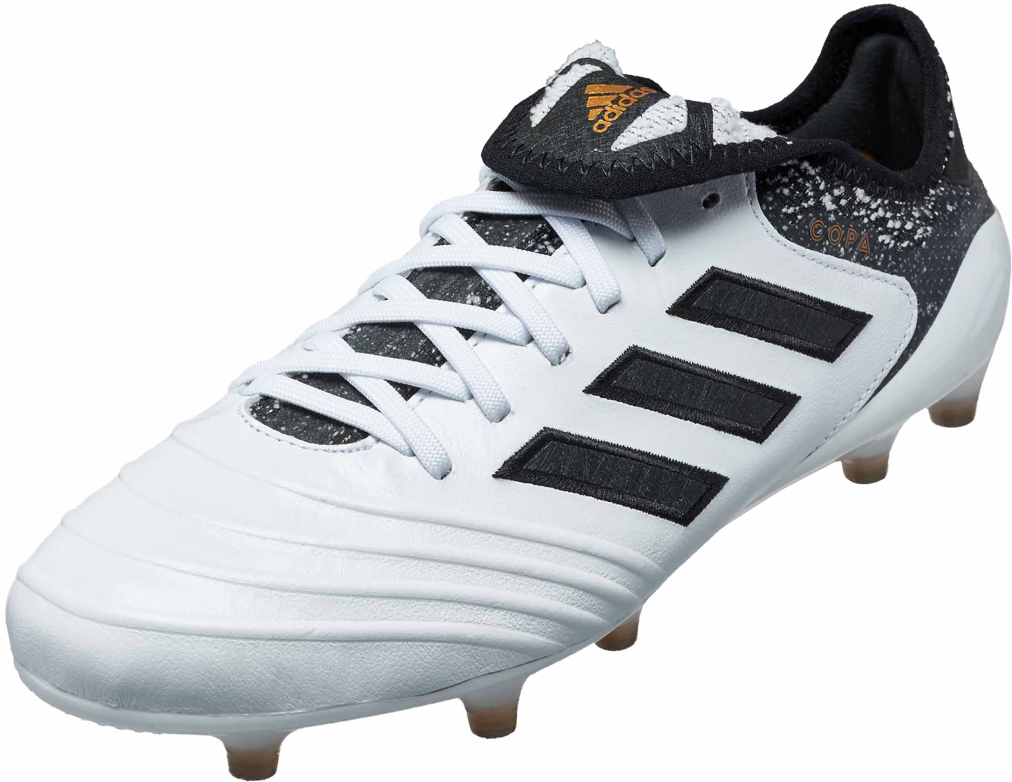 6a0bc8addc3 adidas Copa 18.1 FG - White   Tactile Gold Metallic - Soccer Master