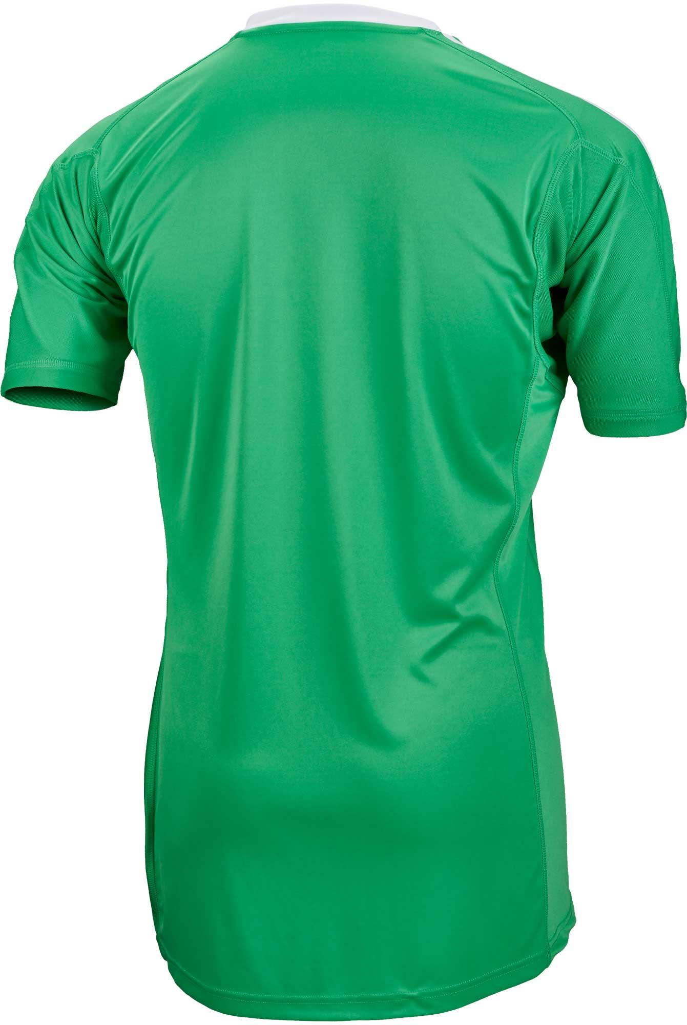 f49f8b88c adidas Revigo 17 S S Goalkeeper Jersey - Energy Green   White ...