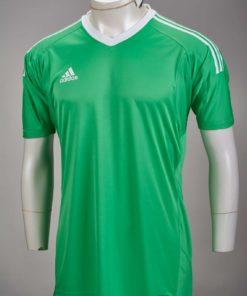 adidas Revigo 17 S S Goalkeeper Jersey - Energy Green   White ... 0ca8f446a